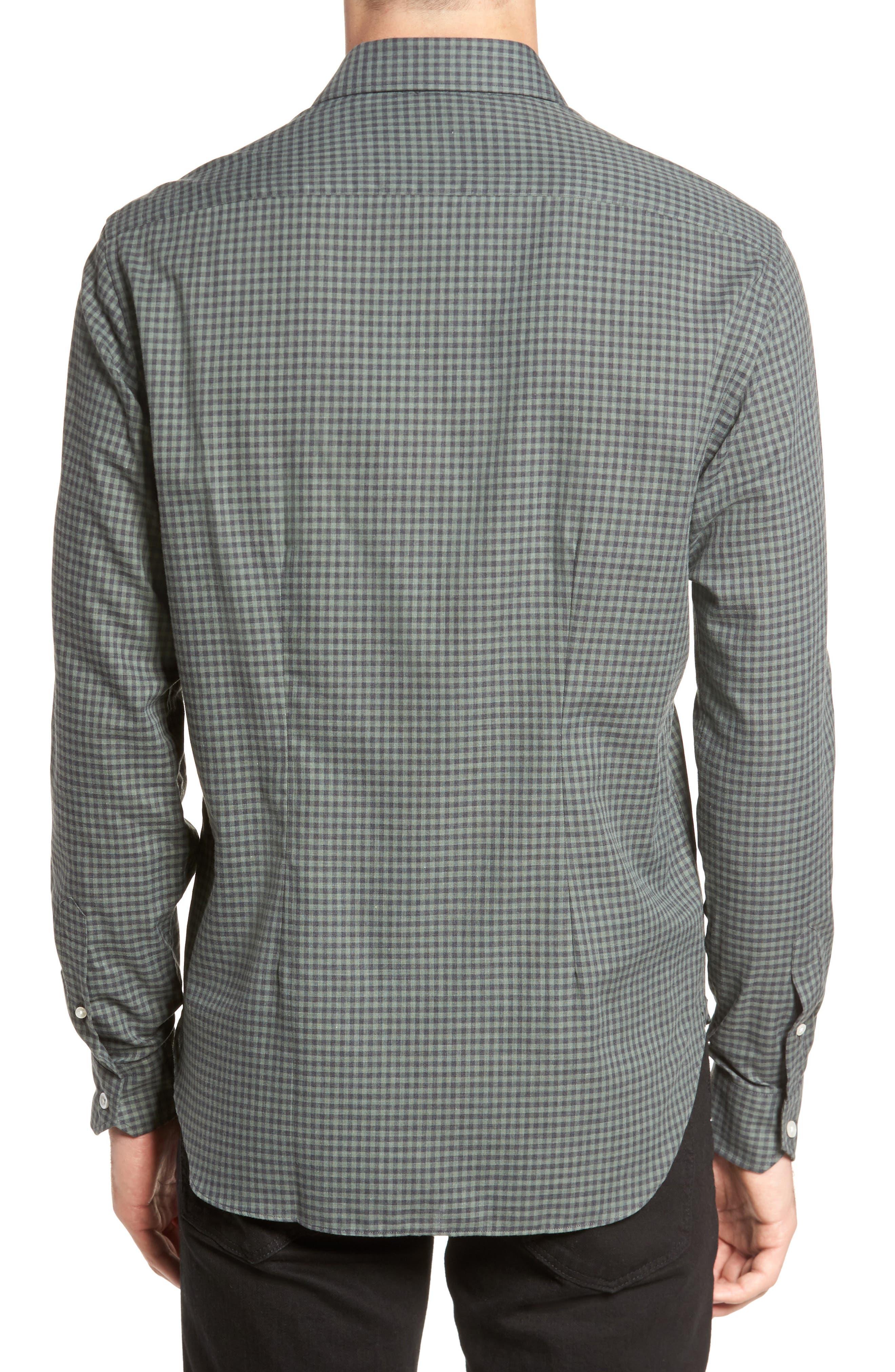 Gingham Sport Shirt,                             Alternate thumbnail 2, color,                             300