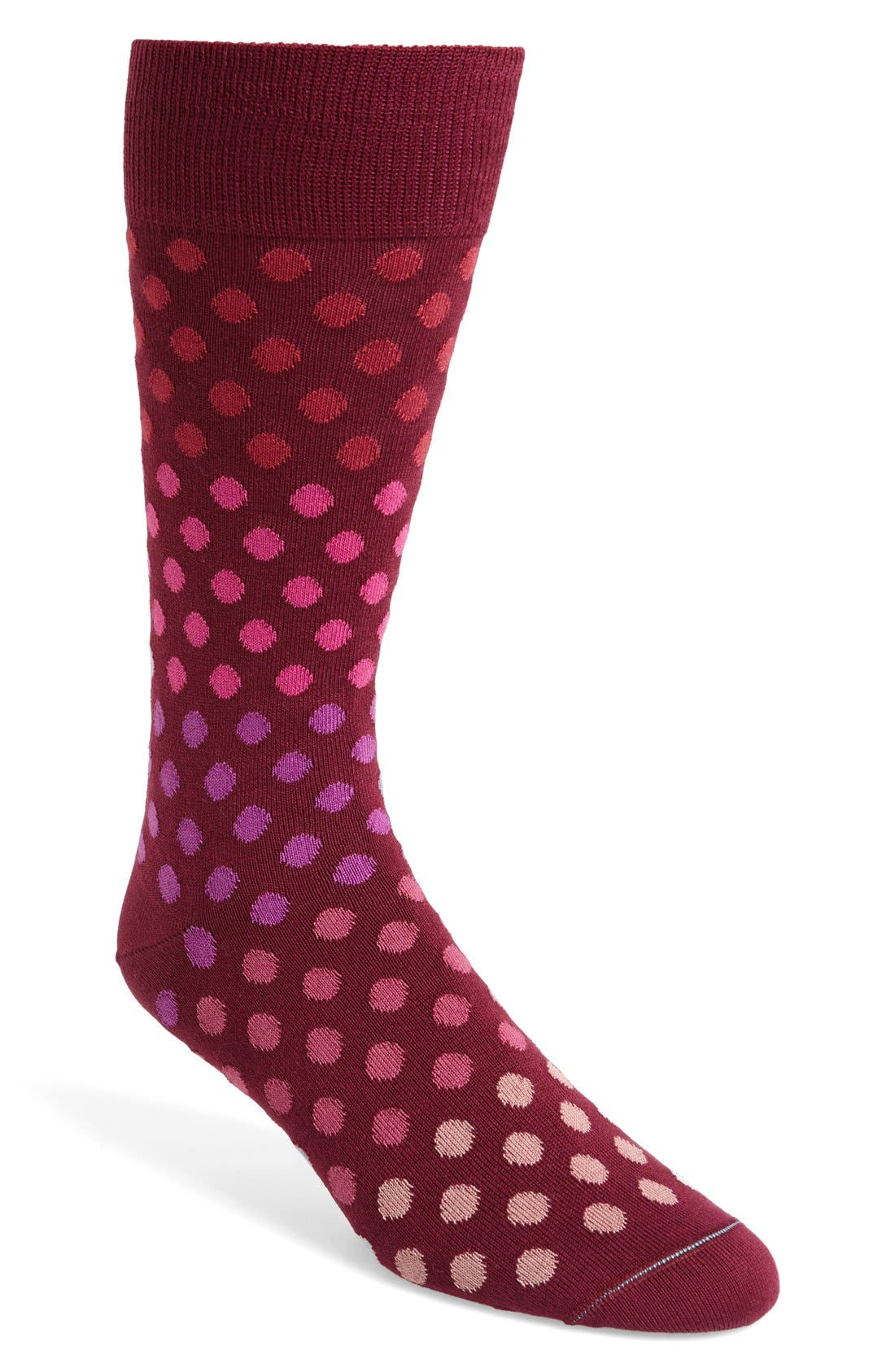 'Dot Dégradé' Socks,                             Main thumbnail 3, color,