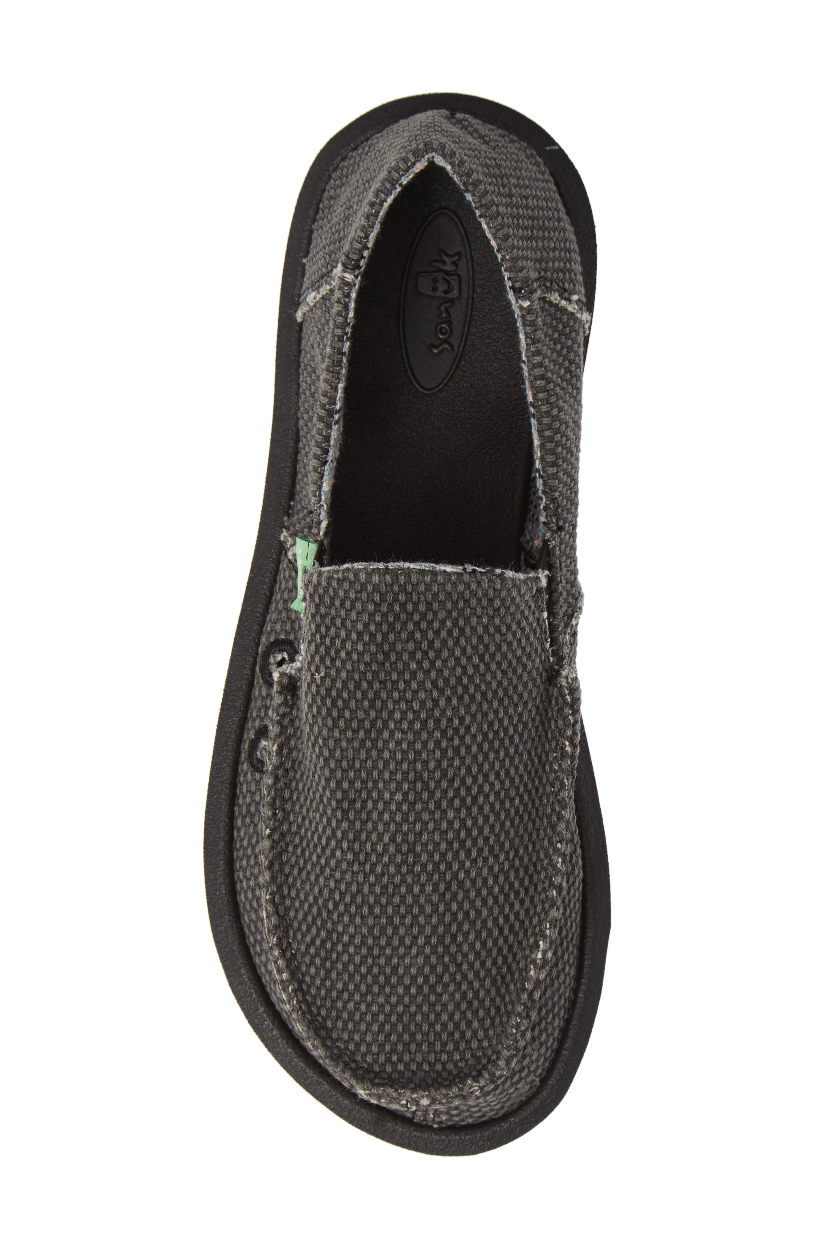Slip-On,                             Alternate thumbnail 5, color,                             BLACK/ BLACK
