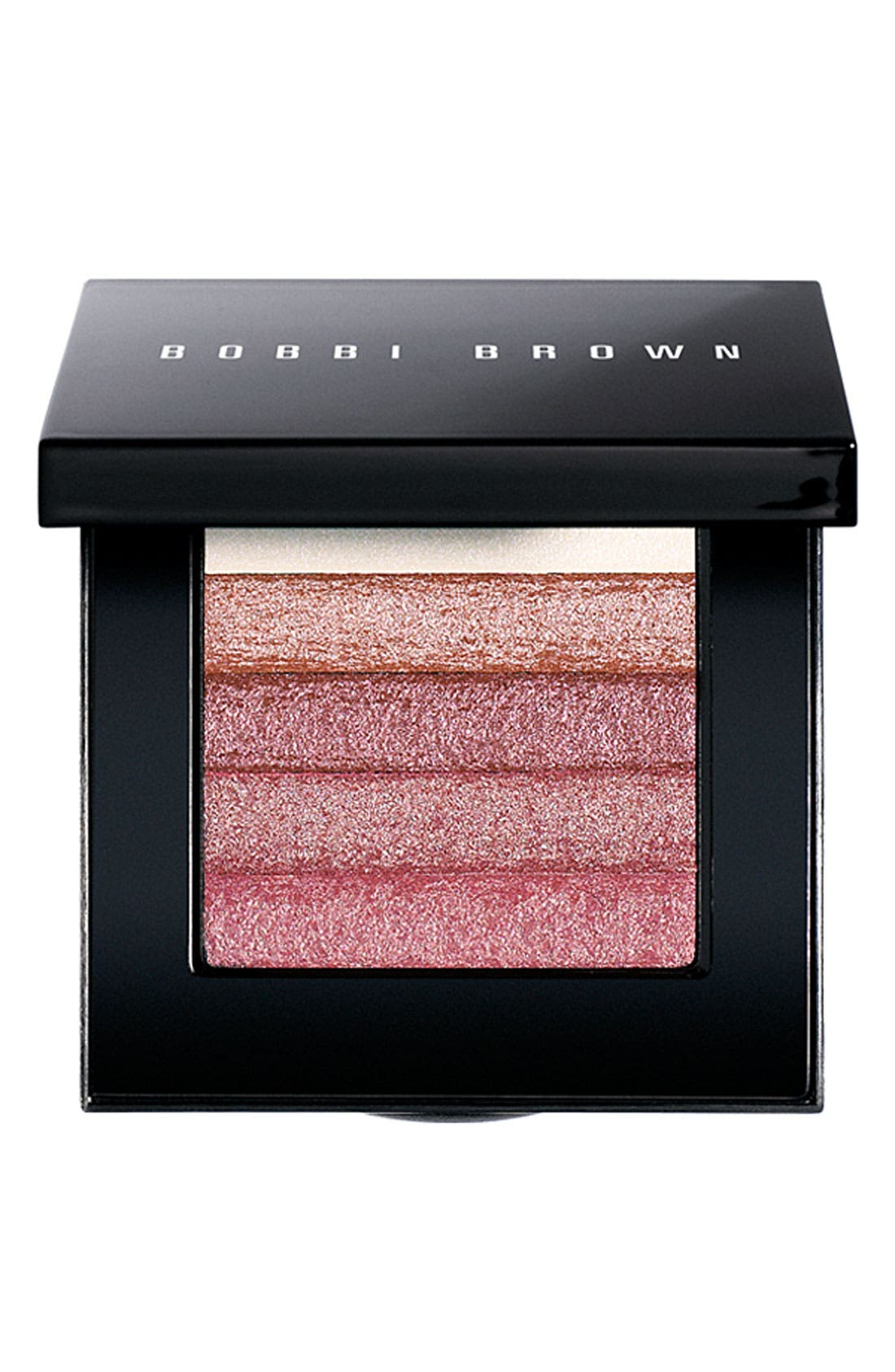 Shimmer Brick Compact,                             Main thumbnail 1, color,                             ROSE