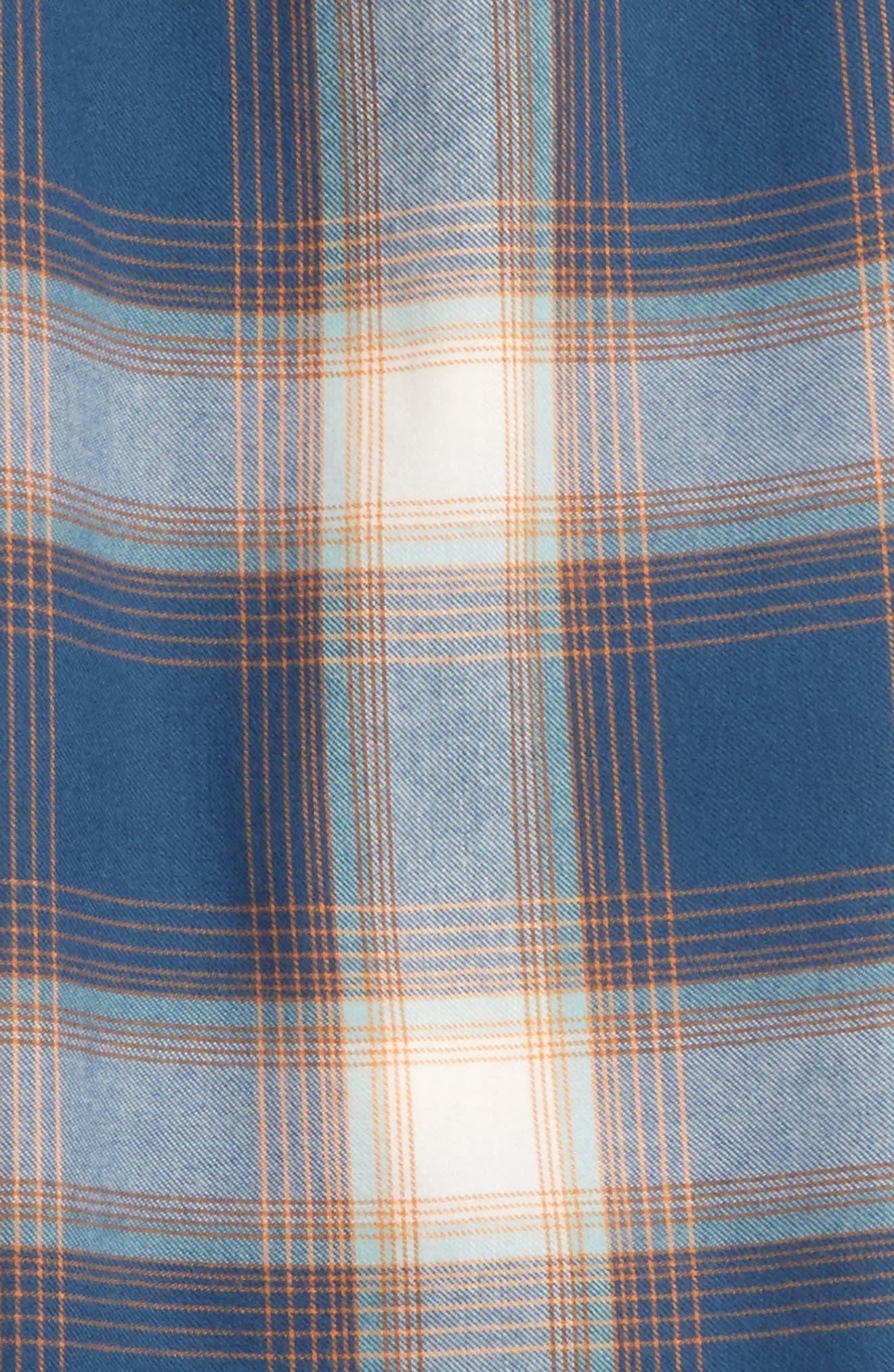 Plaid Flannel Pants,                             Main thumbnail 6, color,