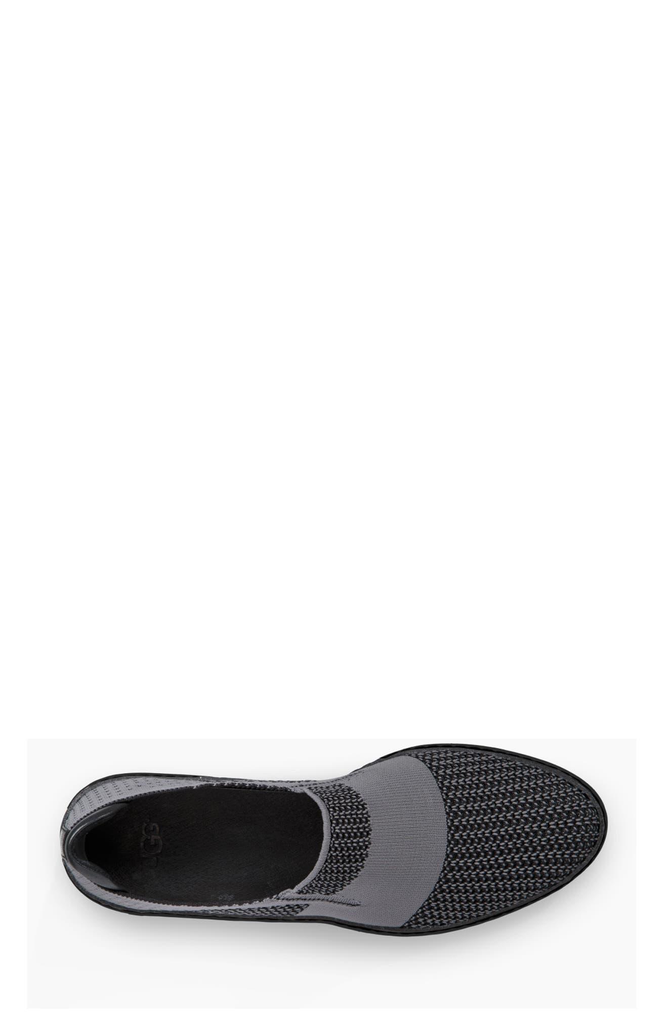 Sammy Sneaker,                             Alternate thumbnail 4, color,                             BLACK/ BLACK FABRIC