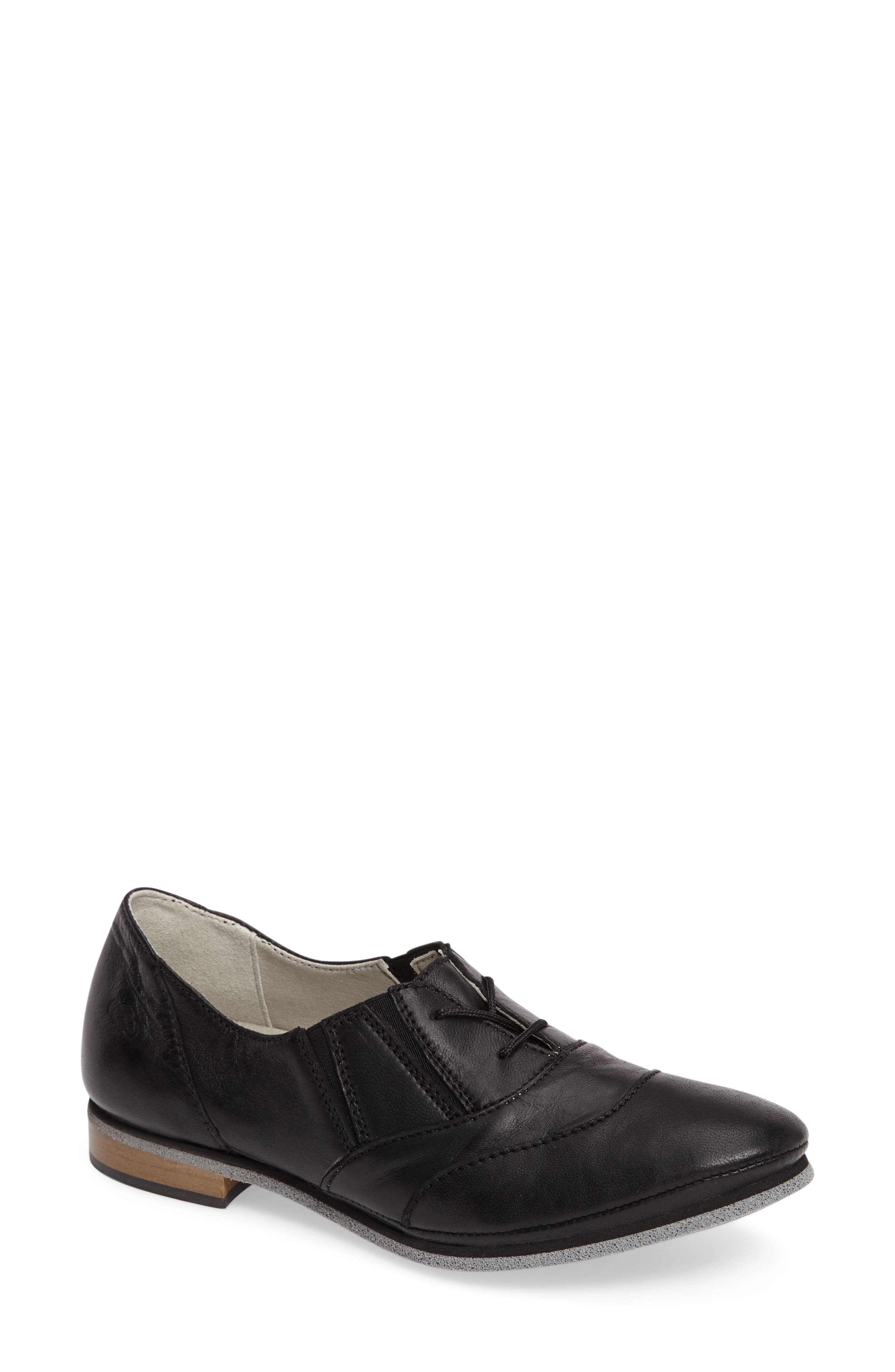 Bliss Lace-Up Oxford,                             Main thumbnail 1, color,                             001
