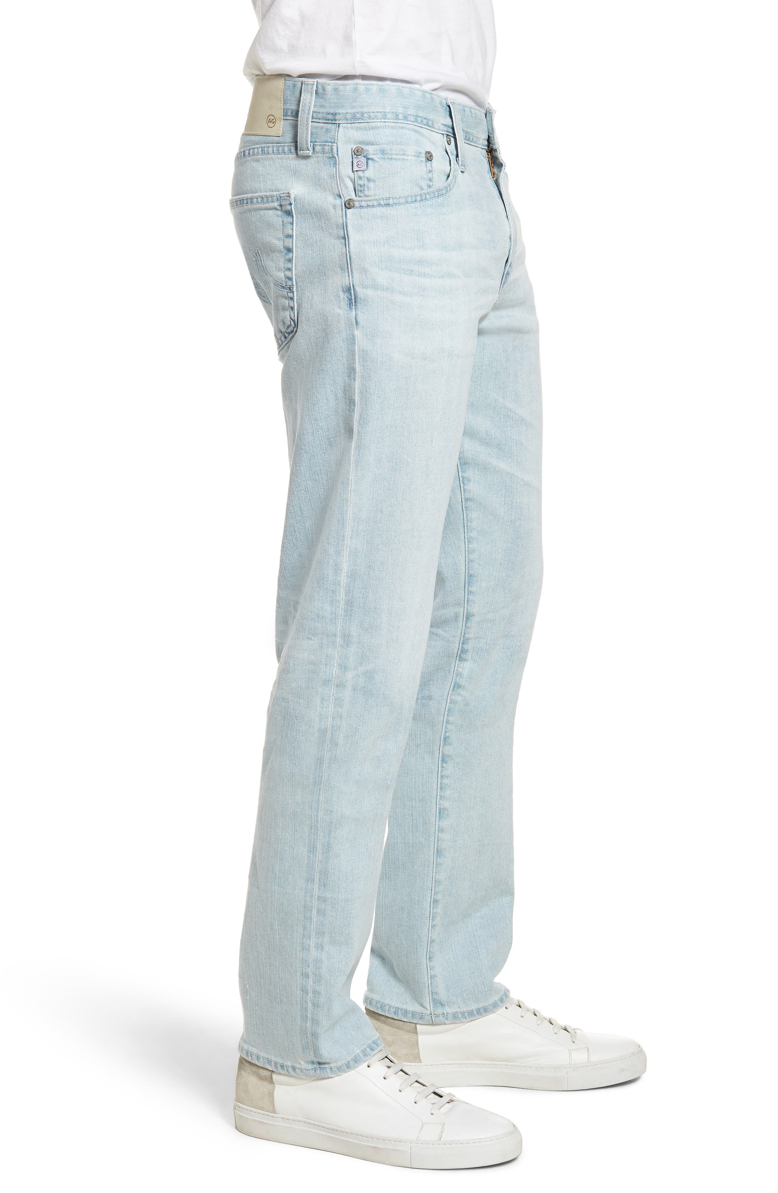 Graduate Slim Straight Leg Jeans,                             Alternate thumbnail 3, color,                             400