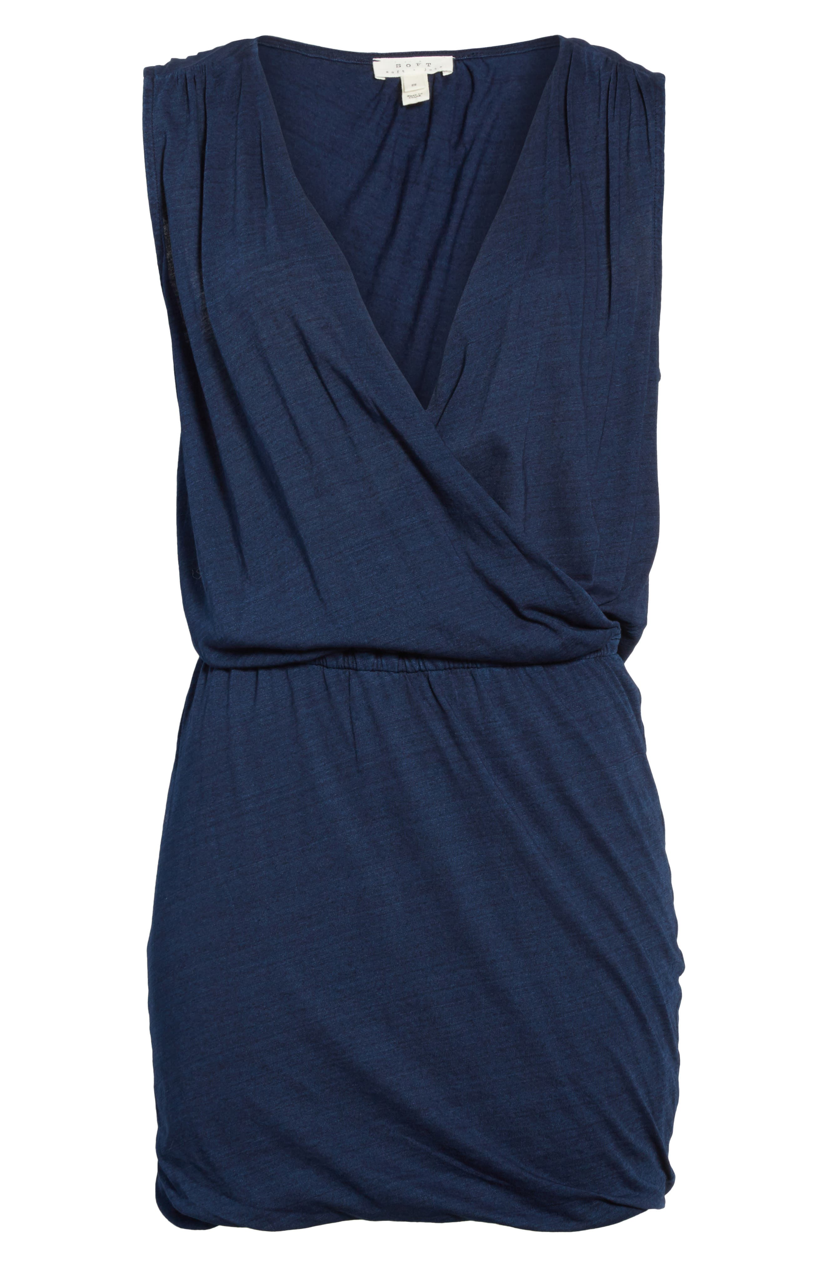 Faylen Blouson Knit Dress,                             Alternate thumbnail 6, color,                             487