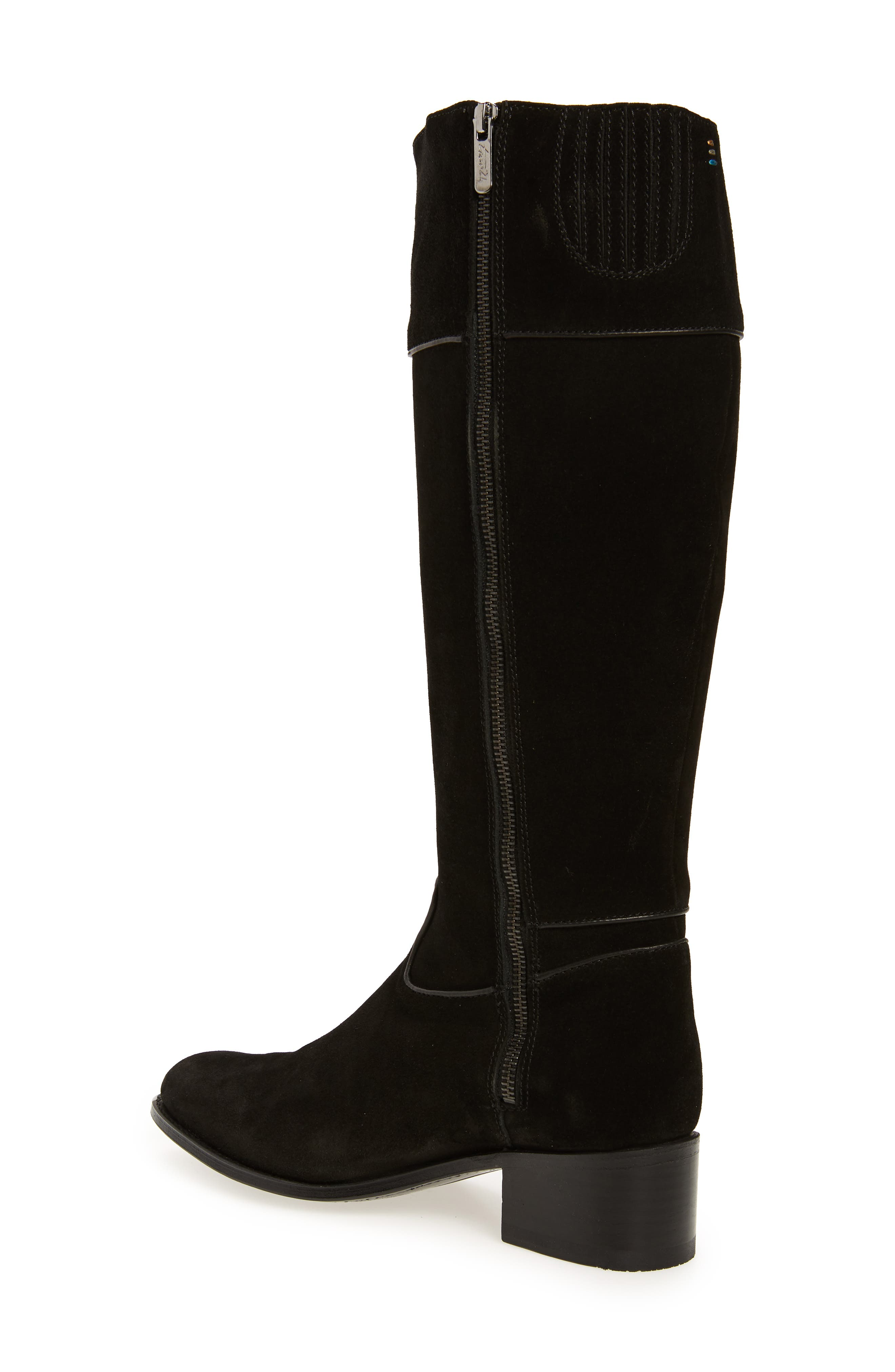 Two24 by Ariat Barcelona Boot,                             Alternate thumbnail 2, color,                             BLACK SUEDE
