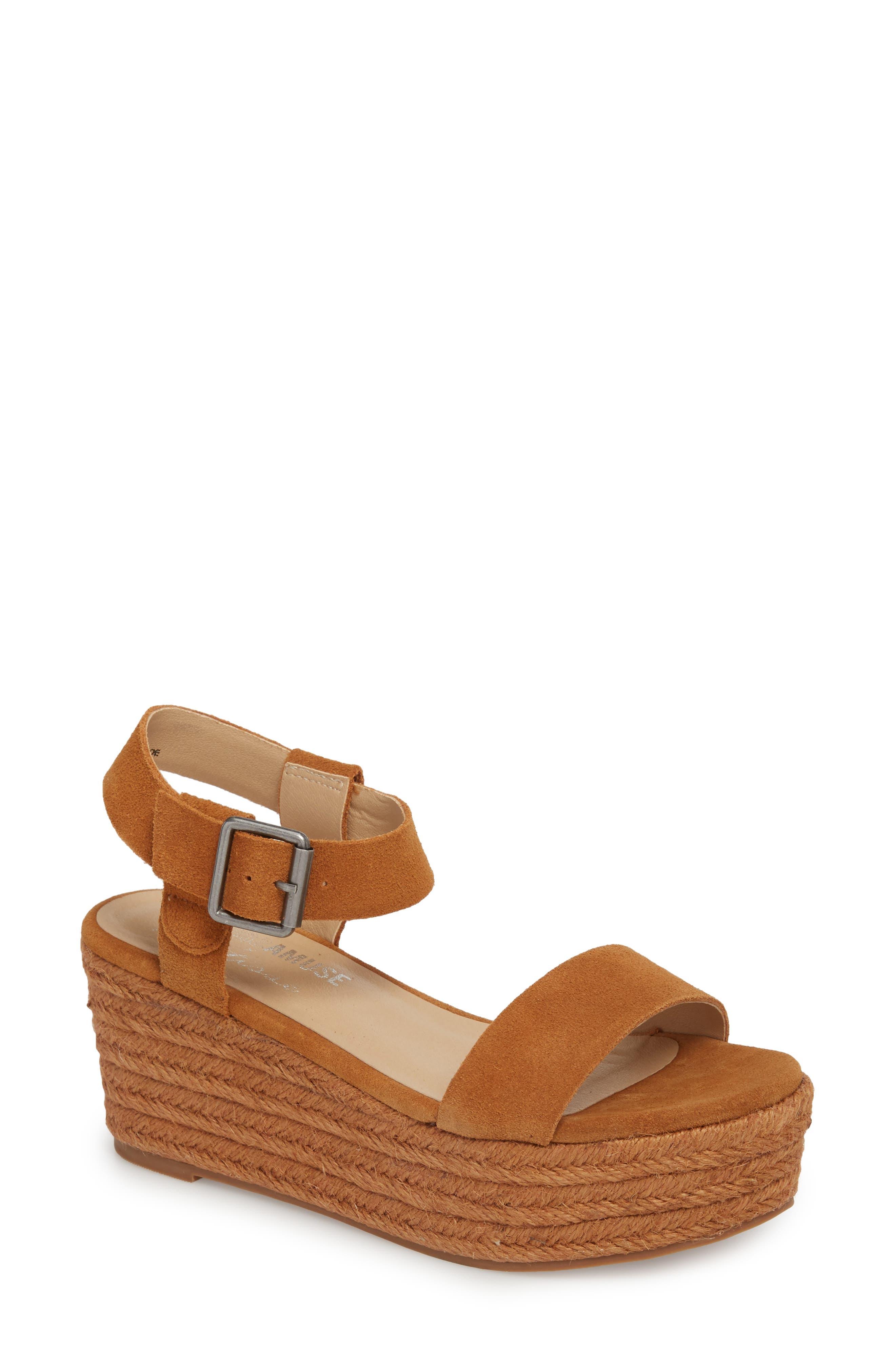 Amuse Society x Matisse Siena Wedge Sandal,                             Main thumbnail 2, color,