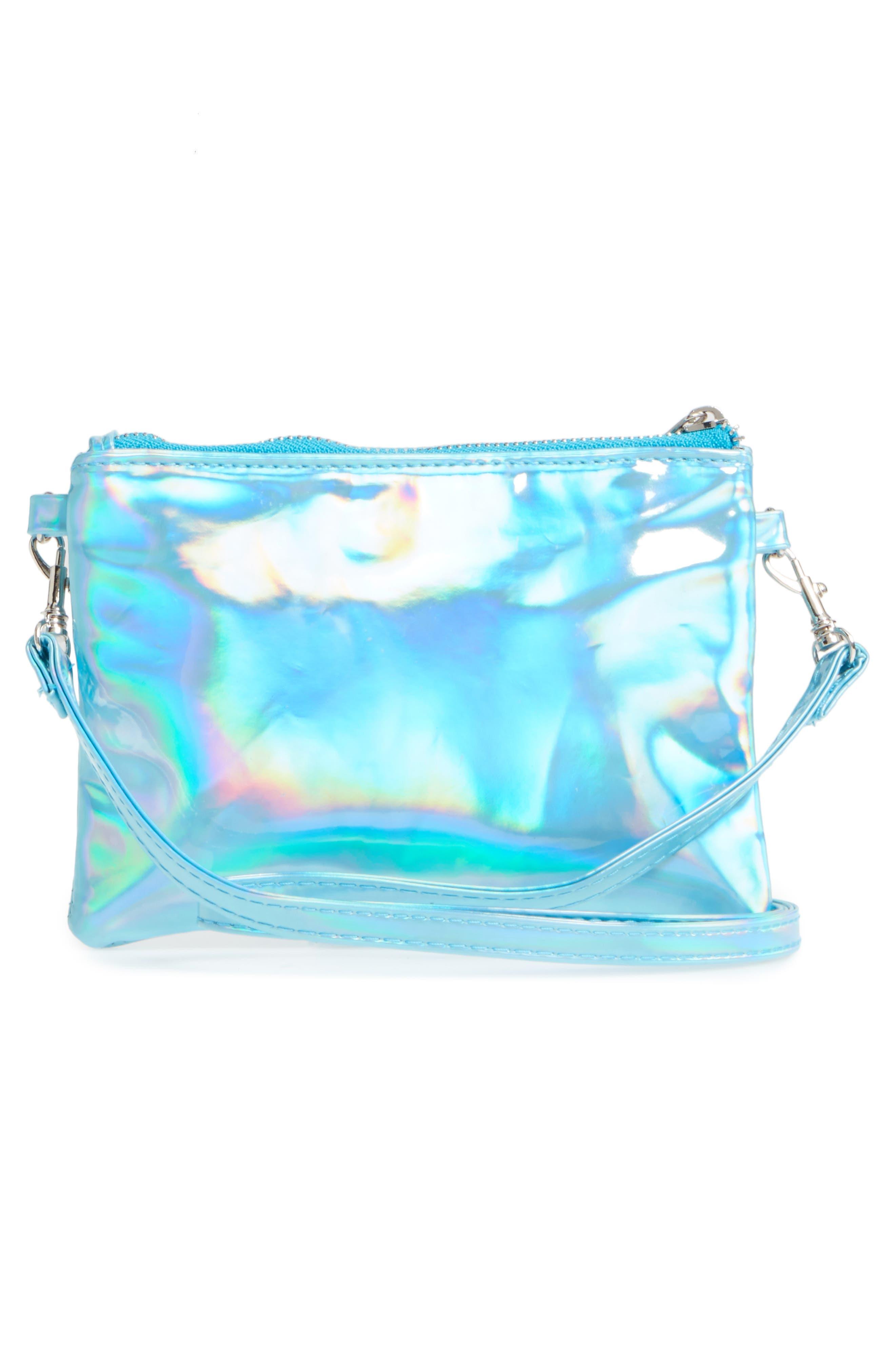 Capelli of New York Hologram Crossbody Bag,                             Alternate thumbnail 2, color,                             401