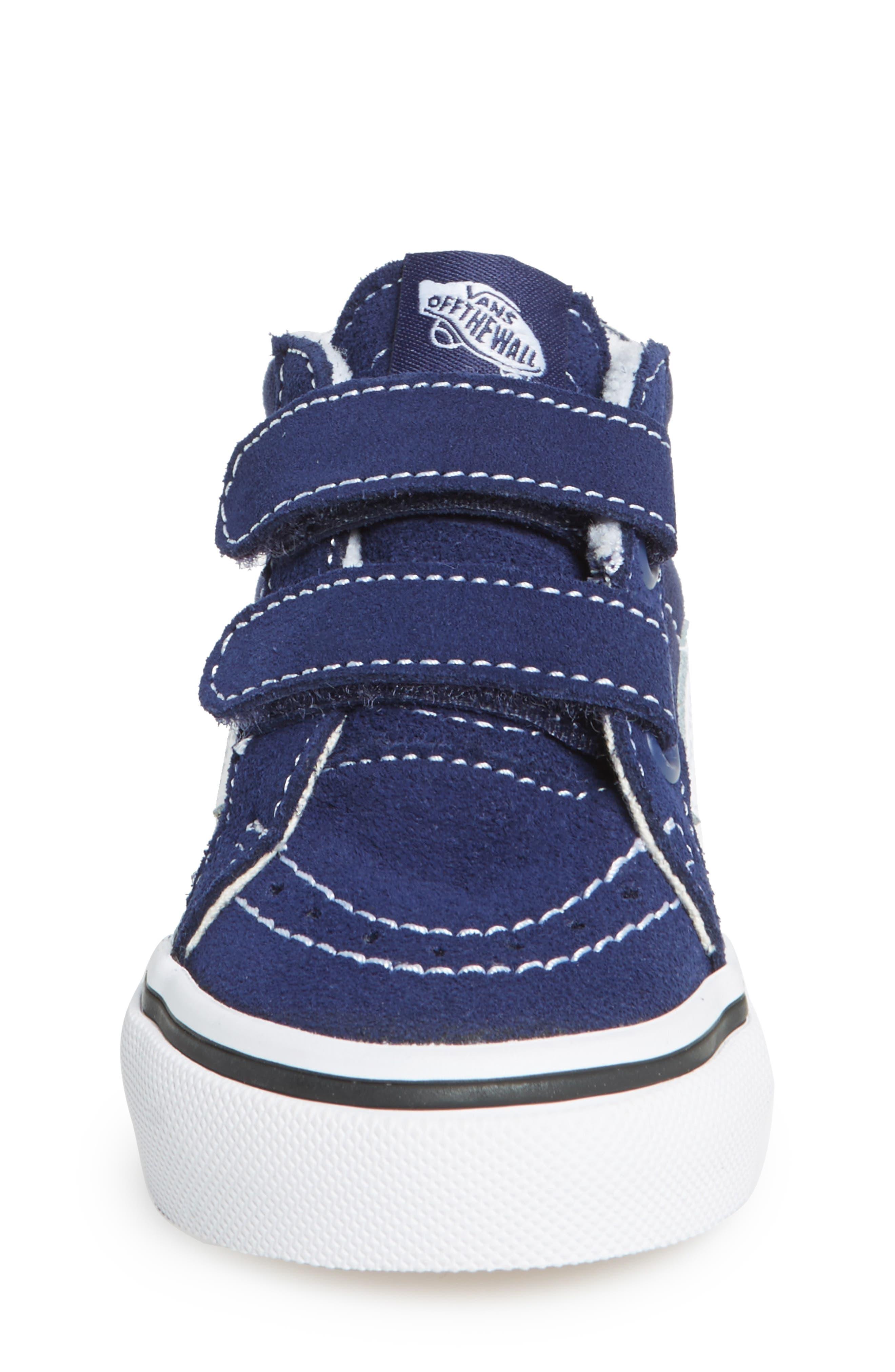 'Sk8-Hi Reissue V' Sneaker,                             Alternate thumbnail 2, color,                             PATRIOT BLUE/ TRUE WHITE