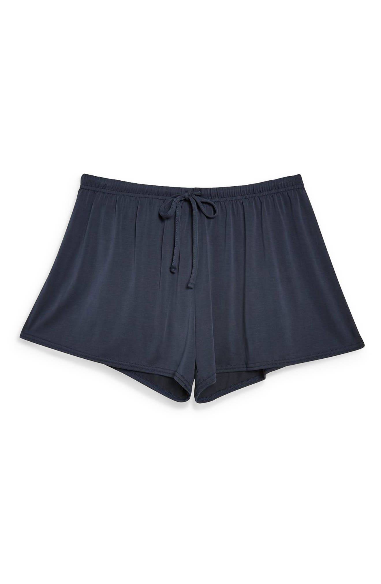 Lounge Shorts,                             Alternate thumbnail 3, color,                             NAVY BLUE