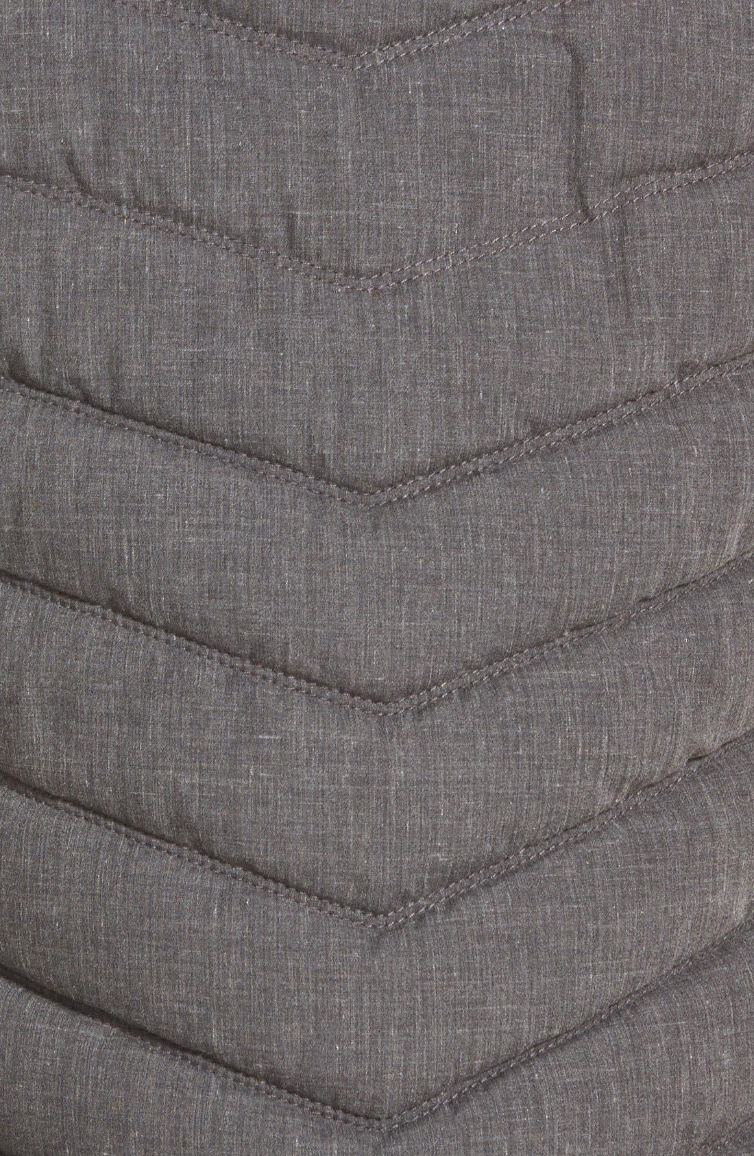 BENCH.,                             Bench Regular Fit Quilted Vest,                             Alternate thumbnail 3, color,                             001