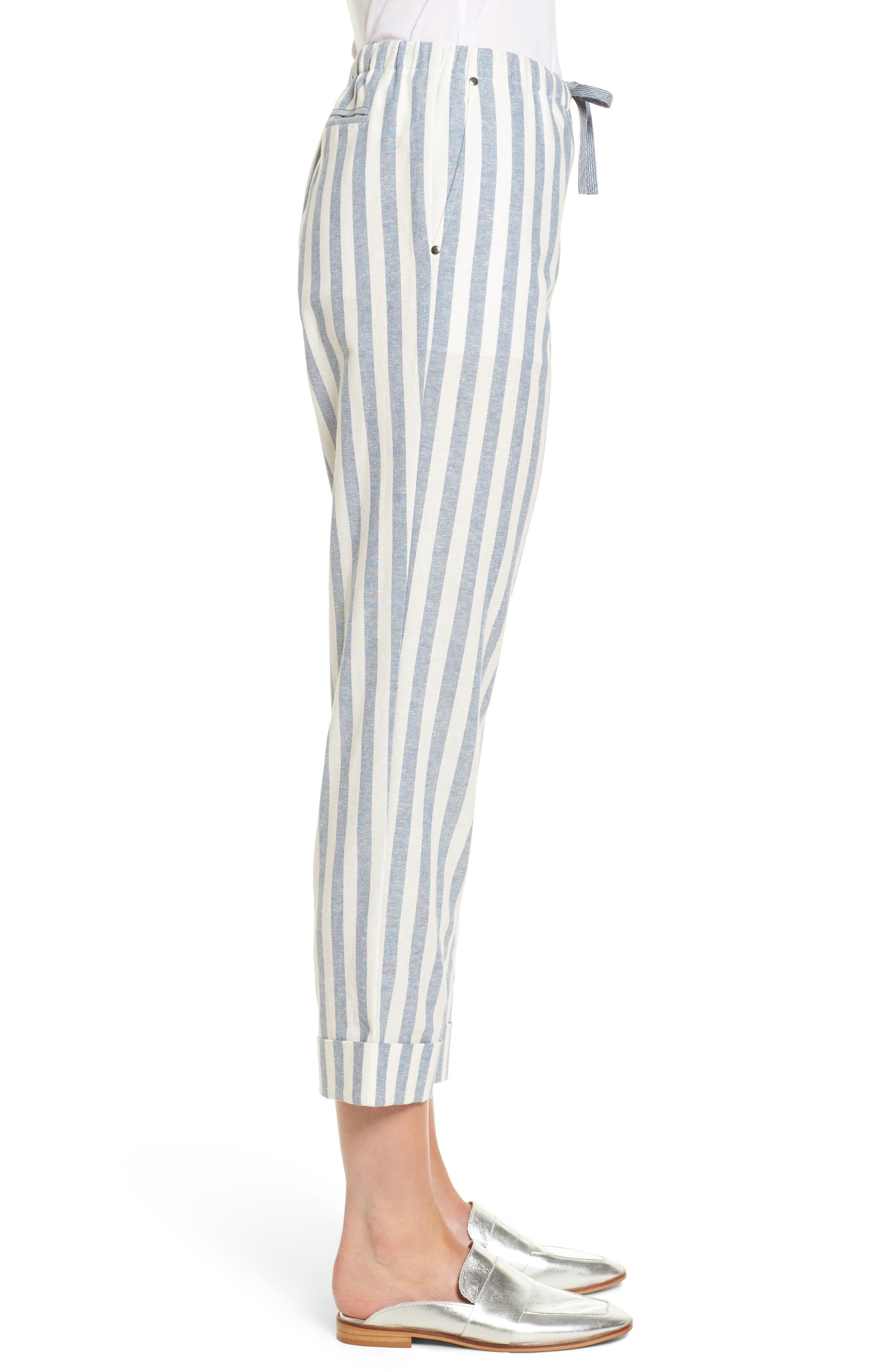 Vera Drawstring Pants,                             Alternate thumbnail 3, color,                             101