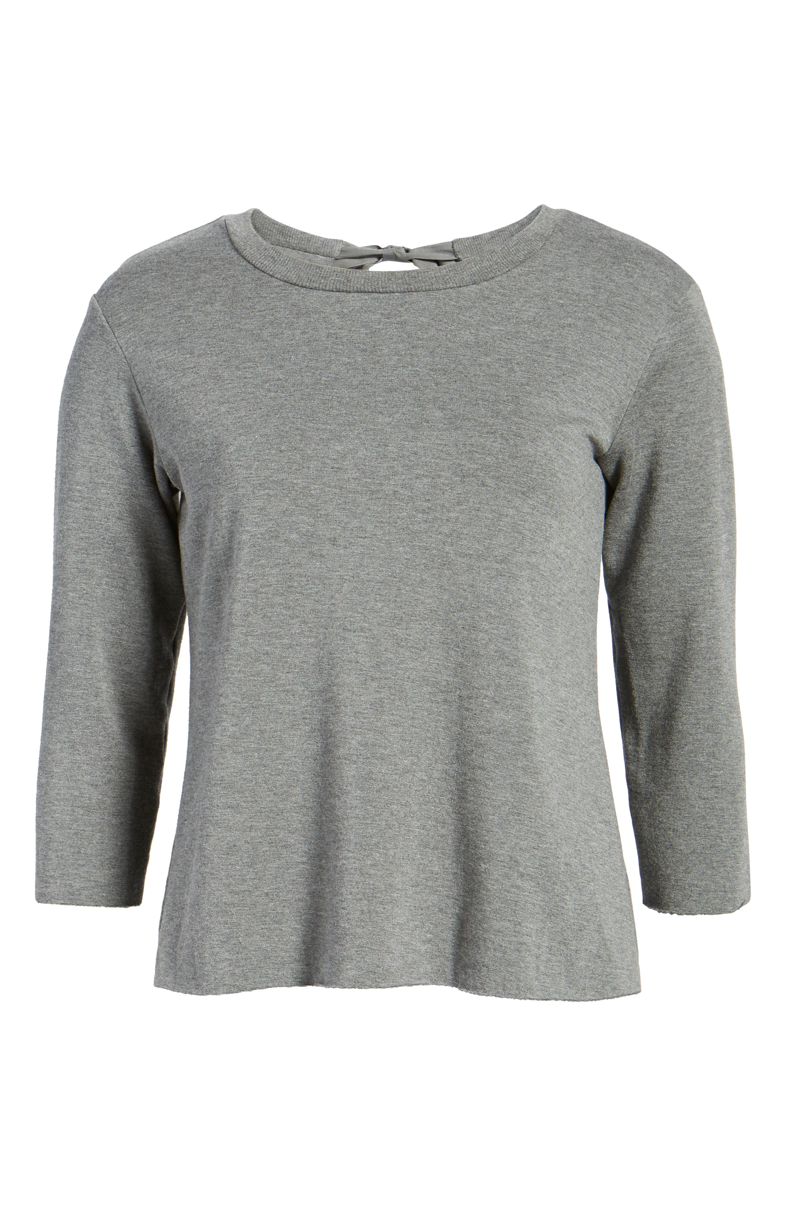 Frappe Tie Back Sweater,                             Alternate thumbnail 6, color,                             021