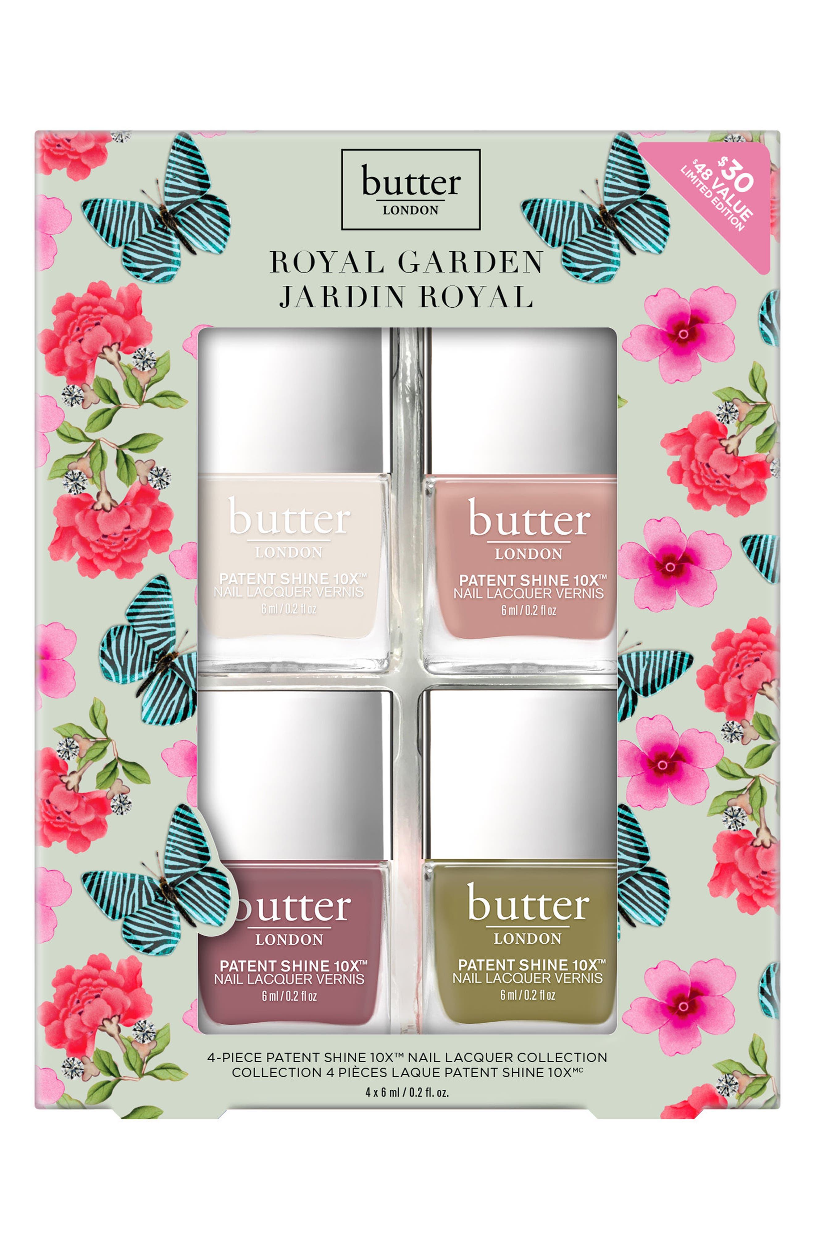 Royal Garden Nail Lacquer Set,                             Alternate thumbnail 2, color,                             000