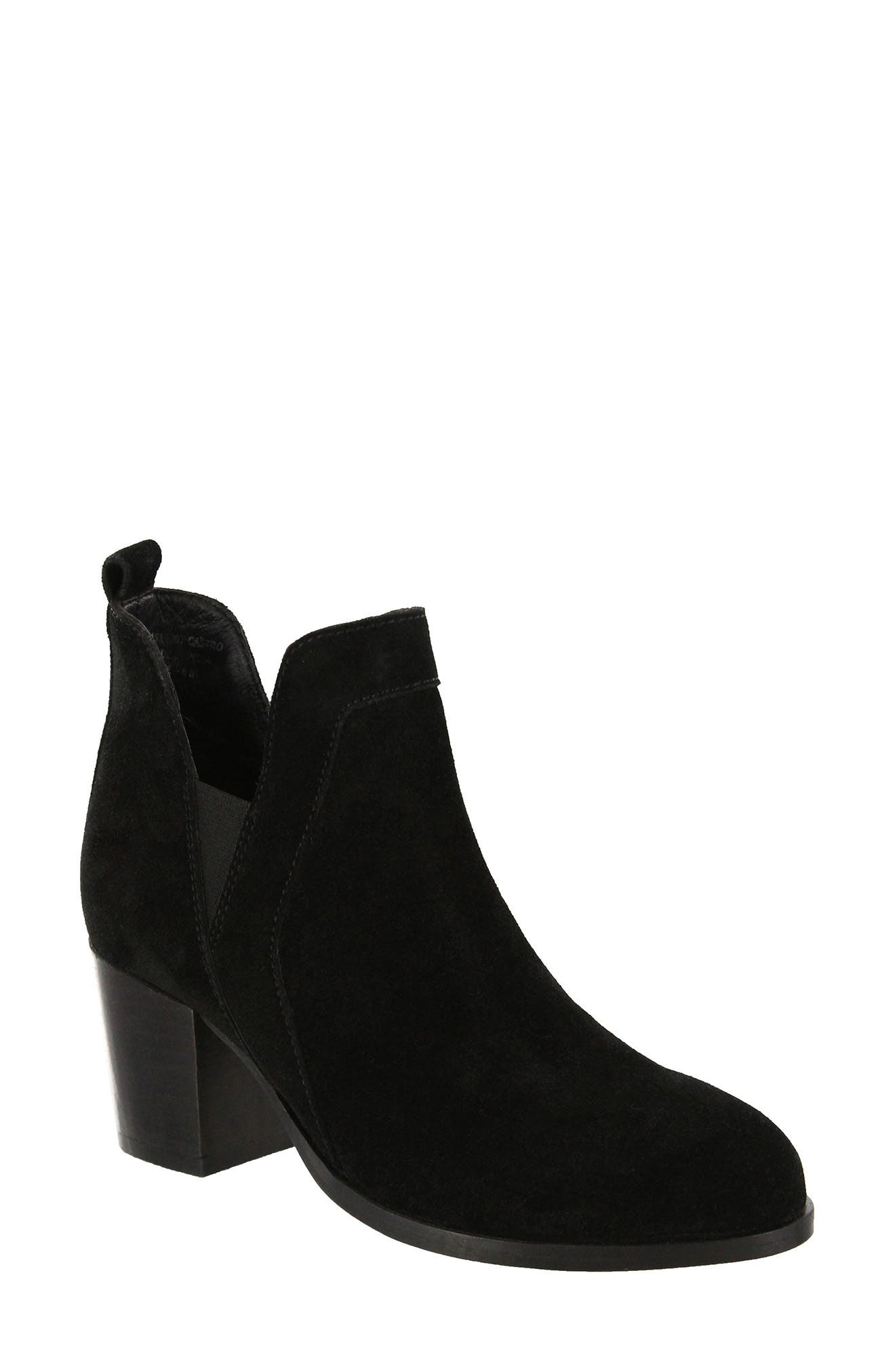 Kastro Bootie,                             Main thumbnail 1, color,                             001