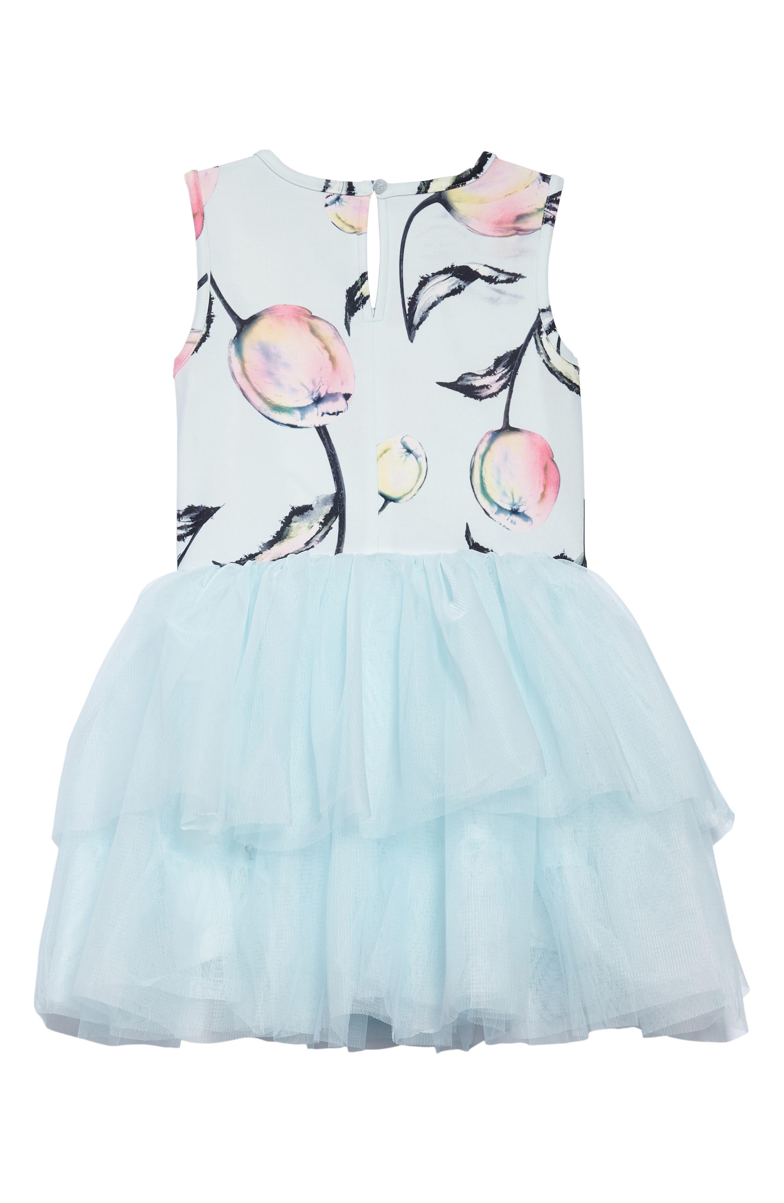 Floral Tutu Dress,                             Alternate thumbnail 2, color,                             400