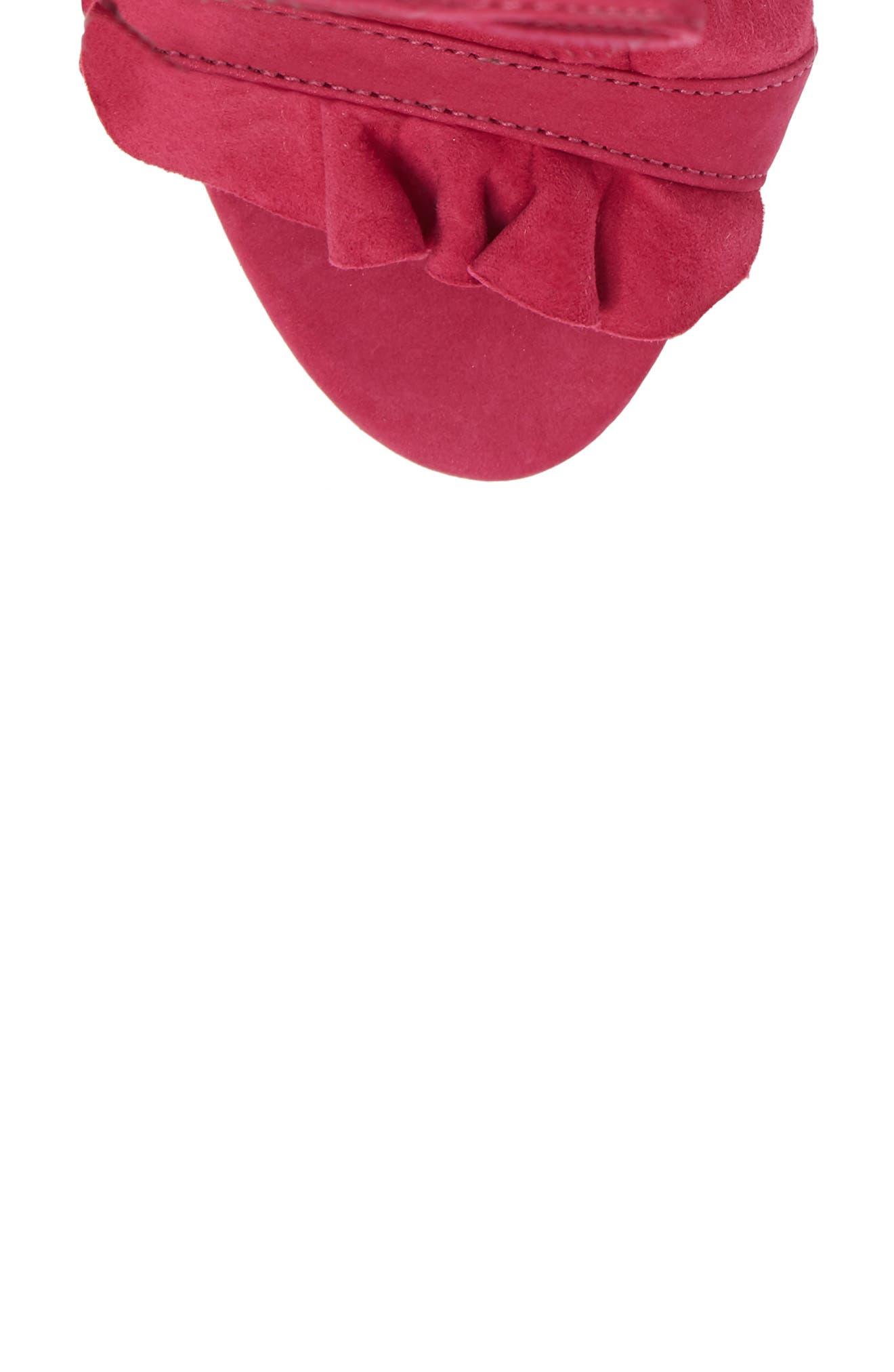 Irem Lace-UP Sandal,                             Alternate thumbnail 5, color,                             651