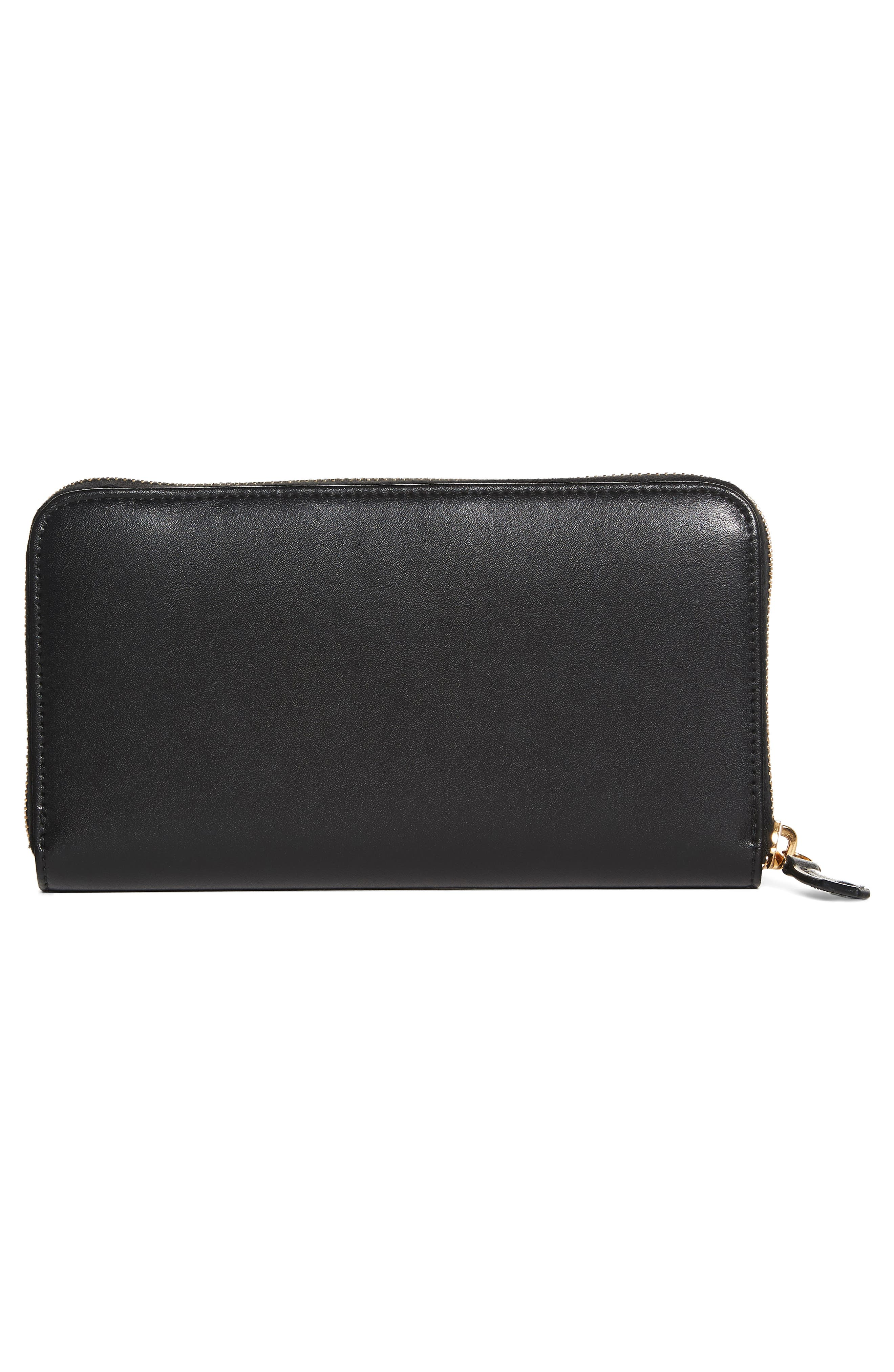 Liberty Leather Zip Around Wallet,                             Alternate thumbnail 4, color,                             006