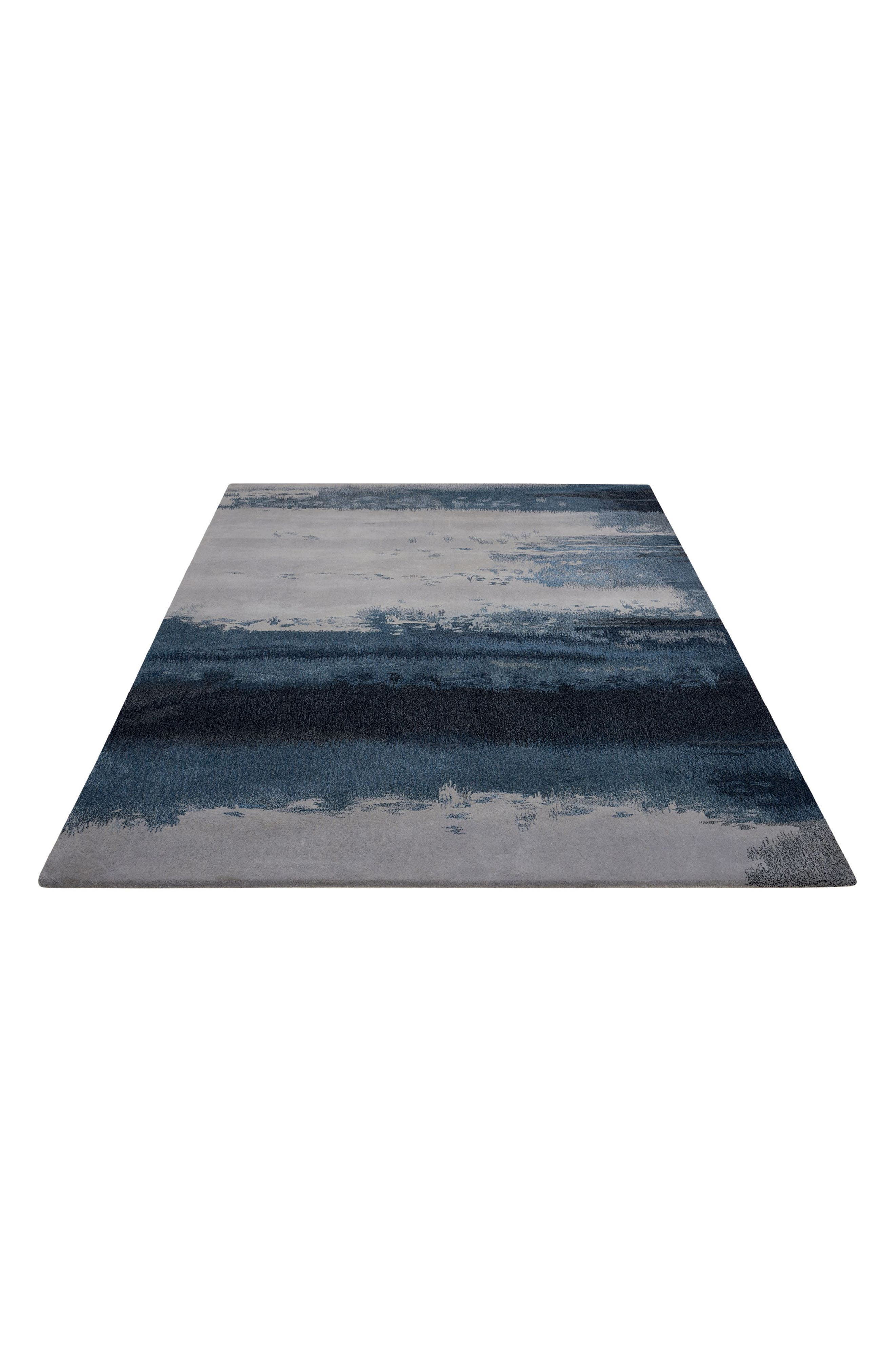 Luster Wash Wool Area Rug,                             Alternate thumbnail 8, color,