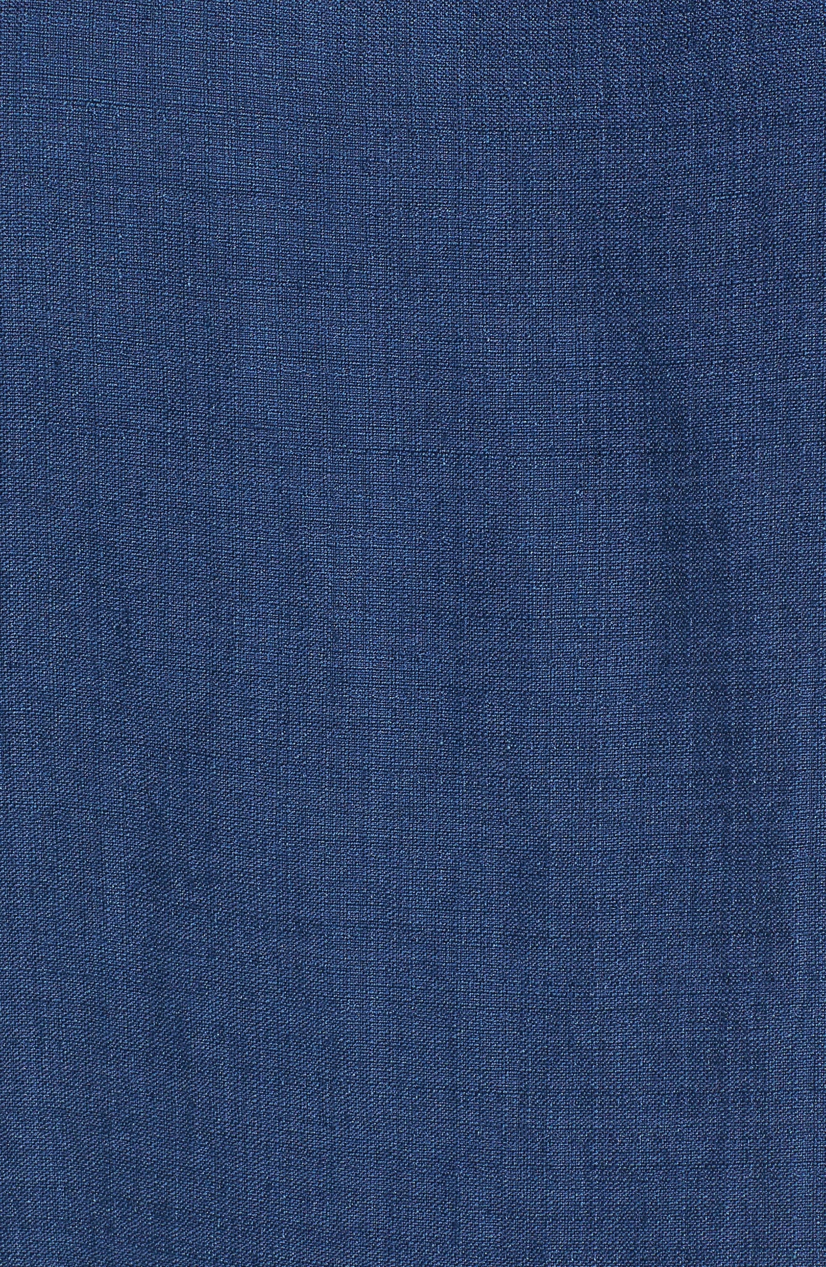 Linen Blend Shift Dress,                             Alternate thumbnail 5, color,                             480