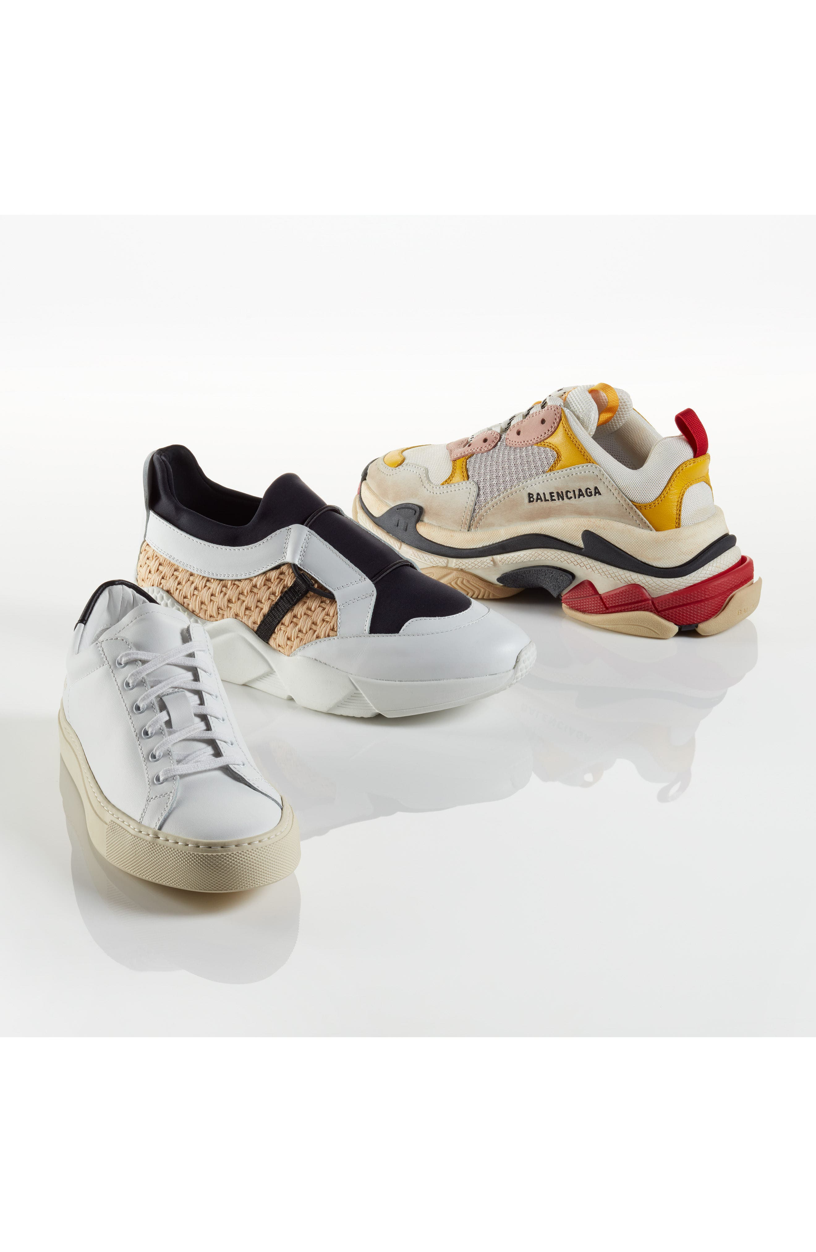 Salvy Woven Sneaker,                             Alternate thumbnail 7, color,                             100