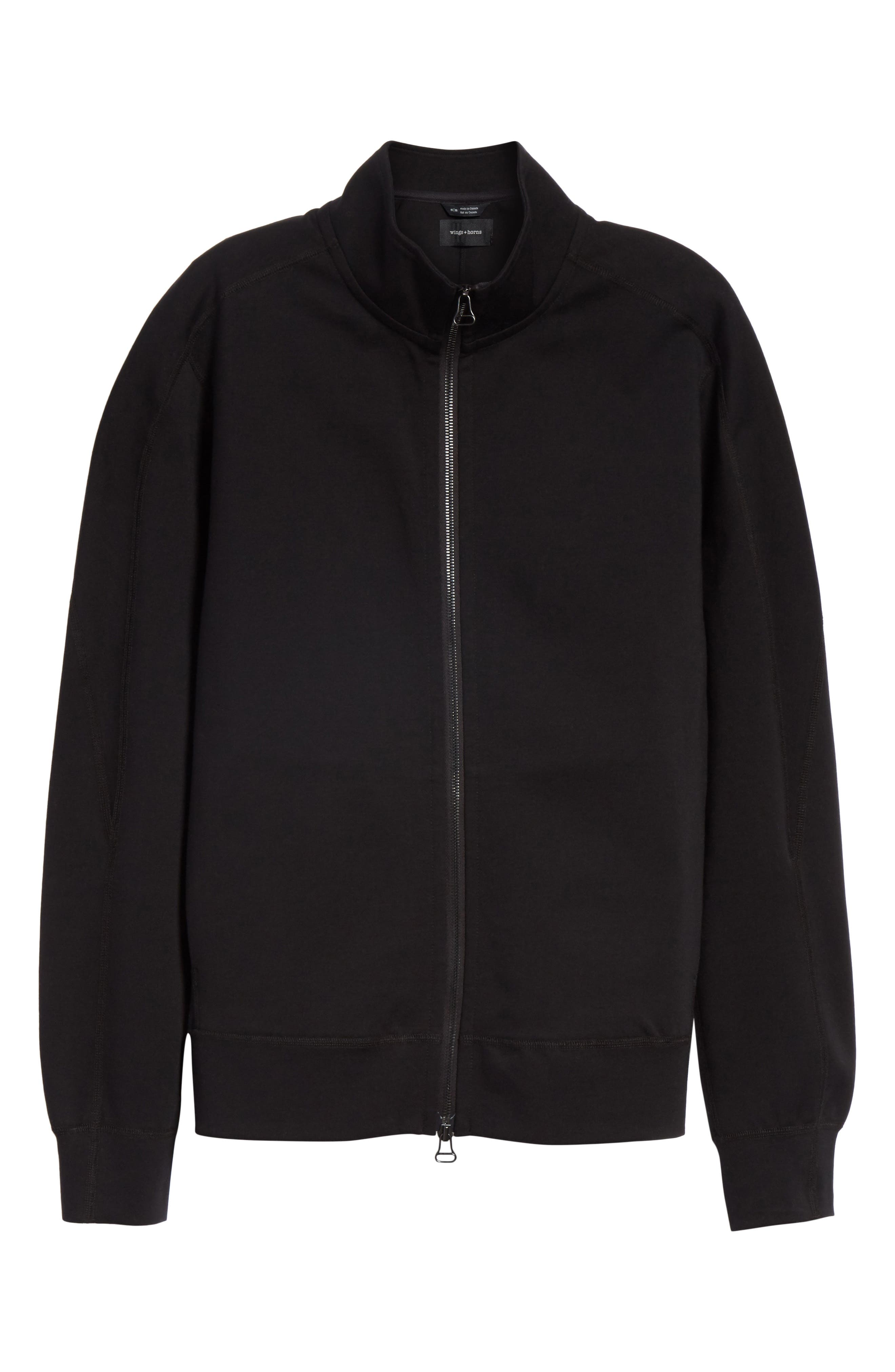 Neo Knit Track Jacket,                             Alternate thumbnail 5, color,