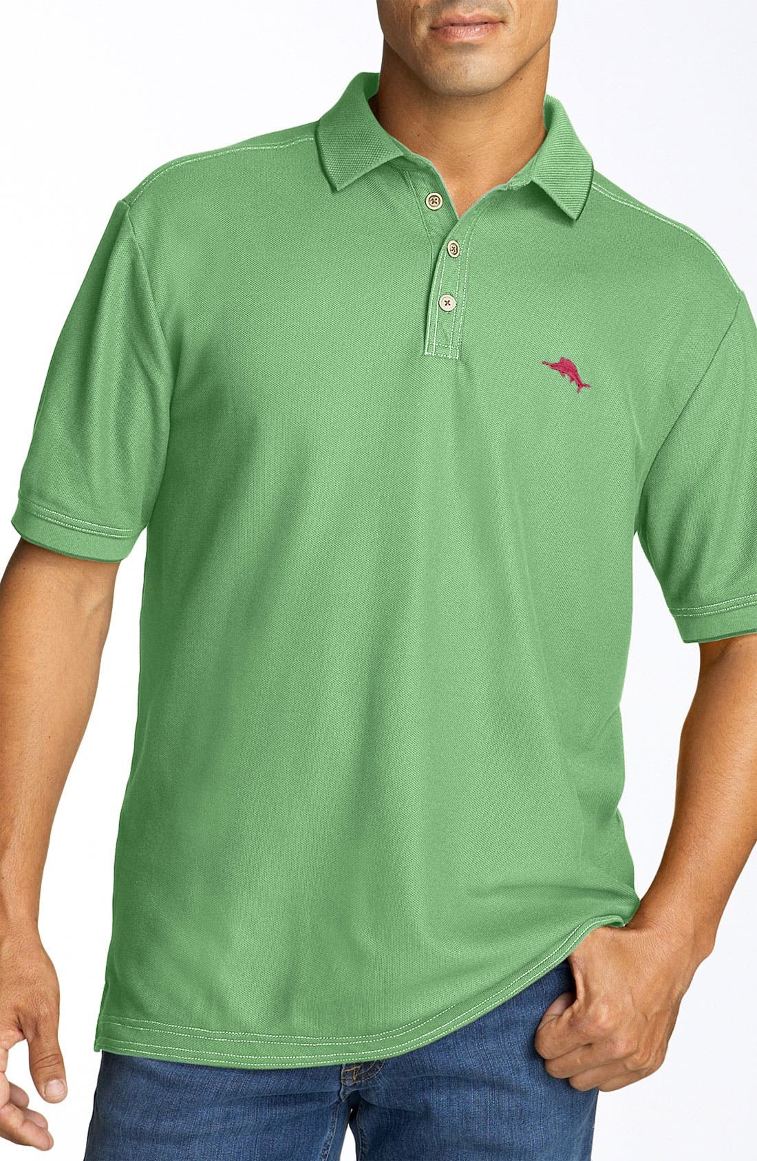 'The Emfielder' Original Fit Piqué Polo,                             Main thumbnail 41, color,