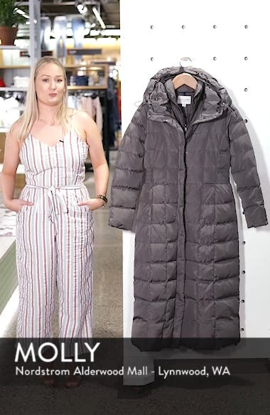 Cole Haan Quilted Coat with Inner Bib, sales video thumbnail