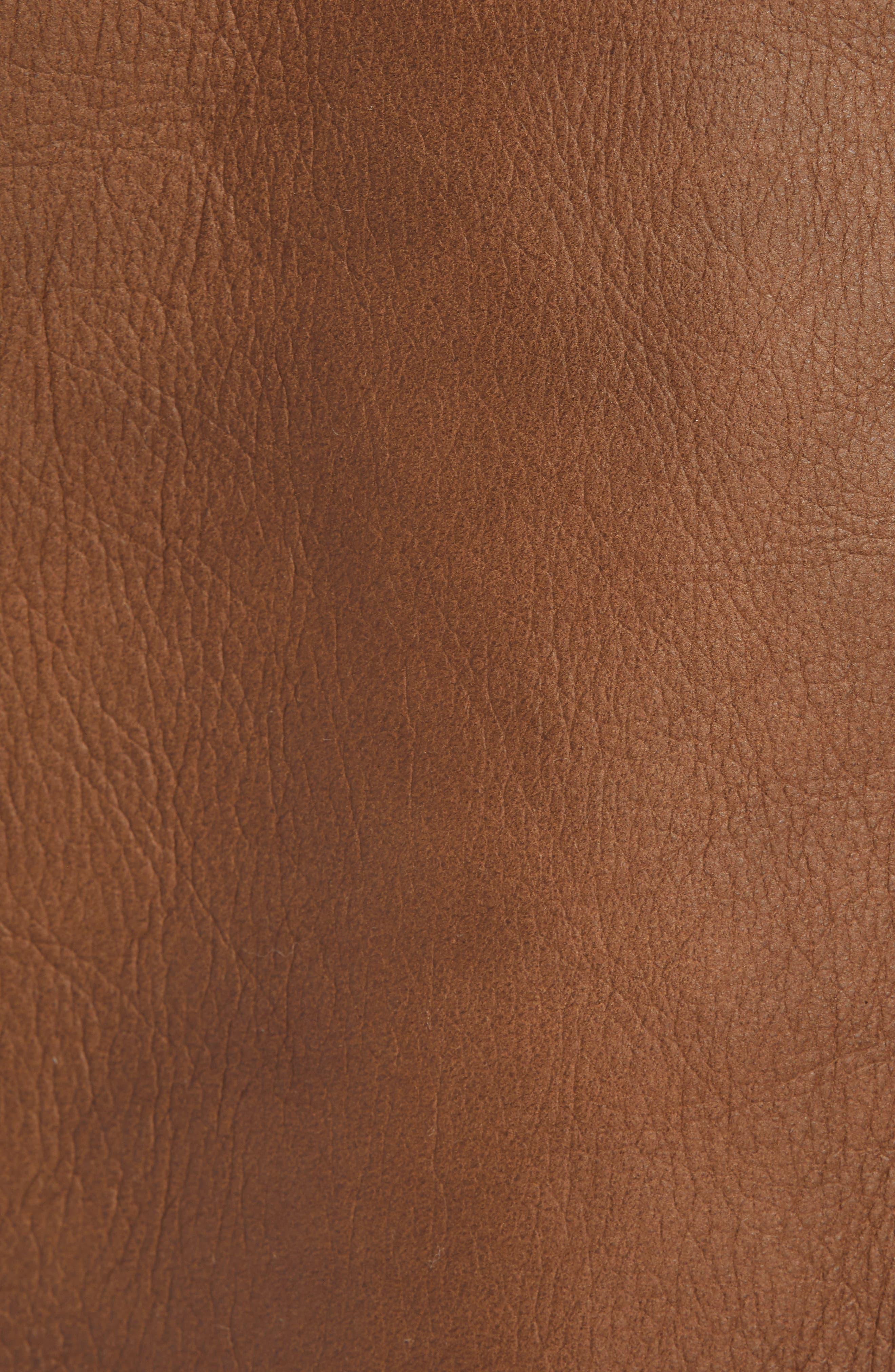 Reversible Genuine Shearling Jacket,                             Alternate thumbnail 7, color,                             117