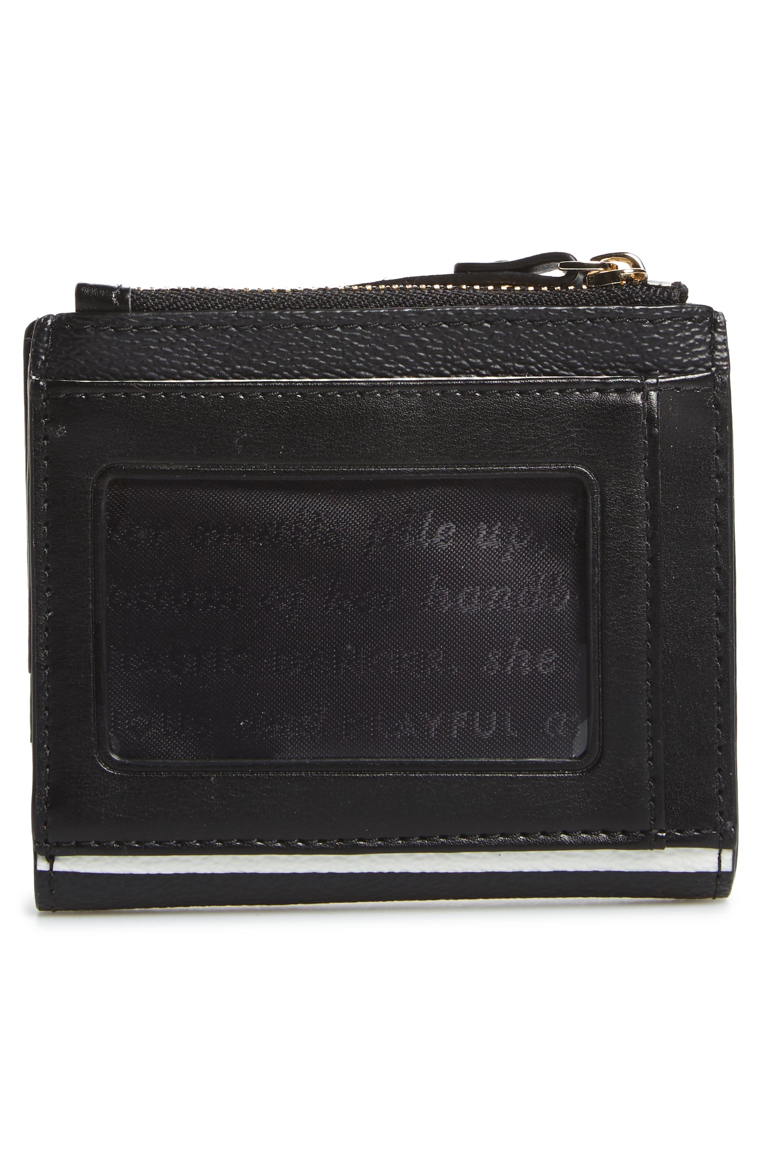 hyde lane – stripe adyln wallet,                             Alternate thumbnail 4, color,                             001