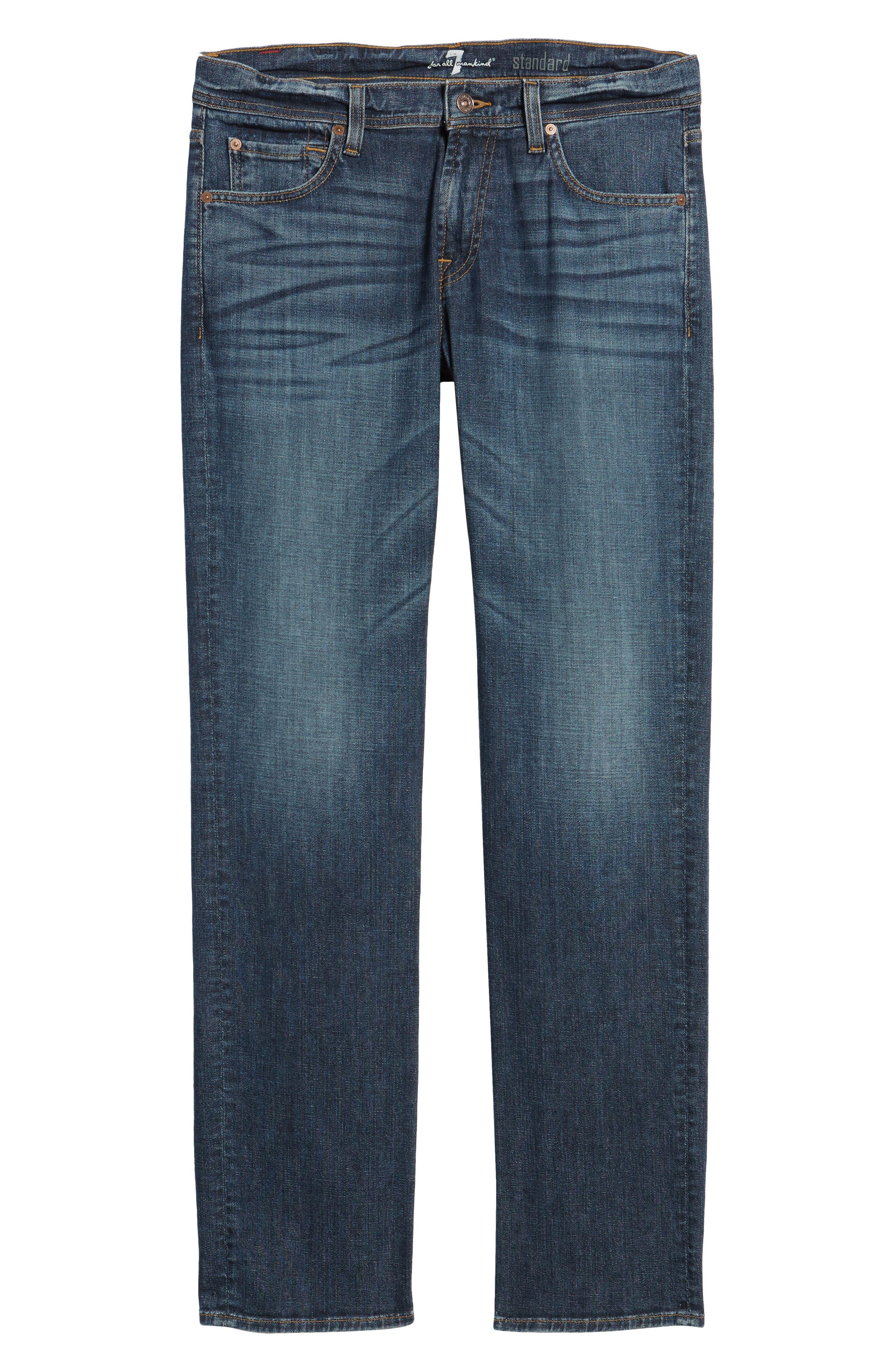The Standard Straight Leg Jeans,                             Alternate thumbnail 6, color,                             408