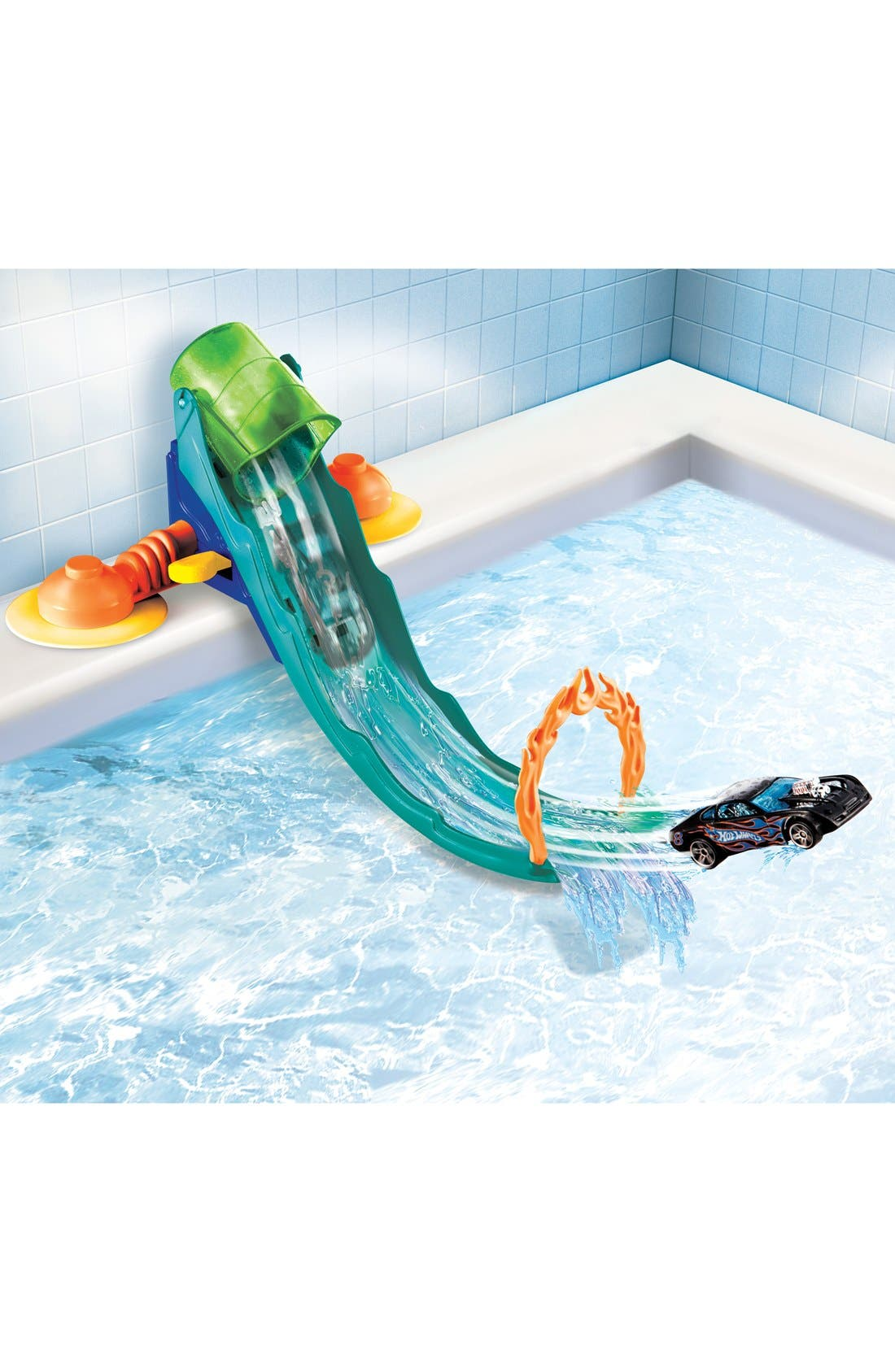 MATTEL,                             'Hot Wheels<sup>®</sup> - Splash Track<sup>™</sup>' Tub Track Set,                             Alternate thumbnail 4, color,                             400