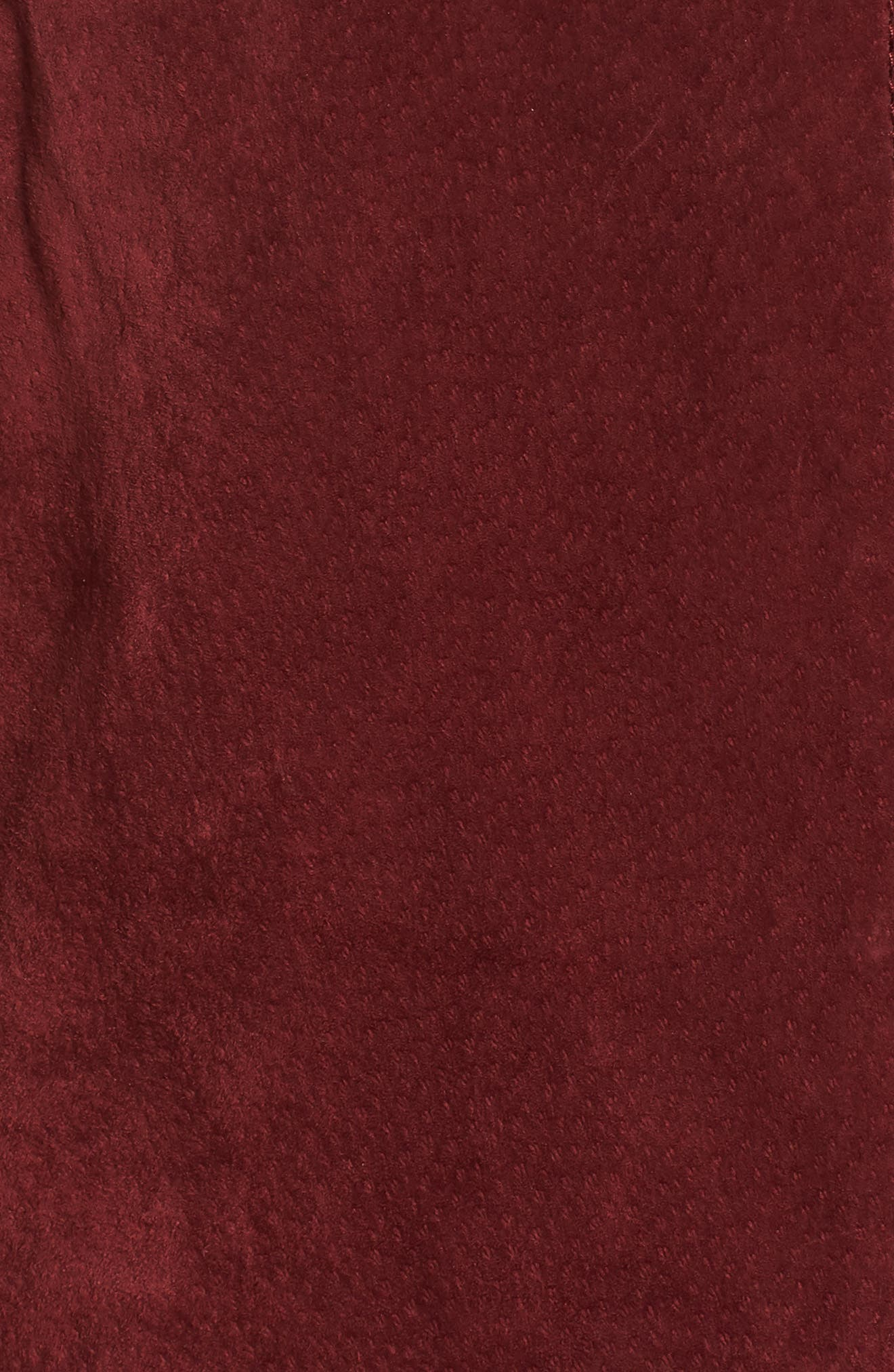 BLANKNYC,                             No Limit Suede Moto Jacket,                             Alternate thumbnail 7, color,                             RUBY