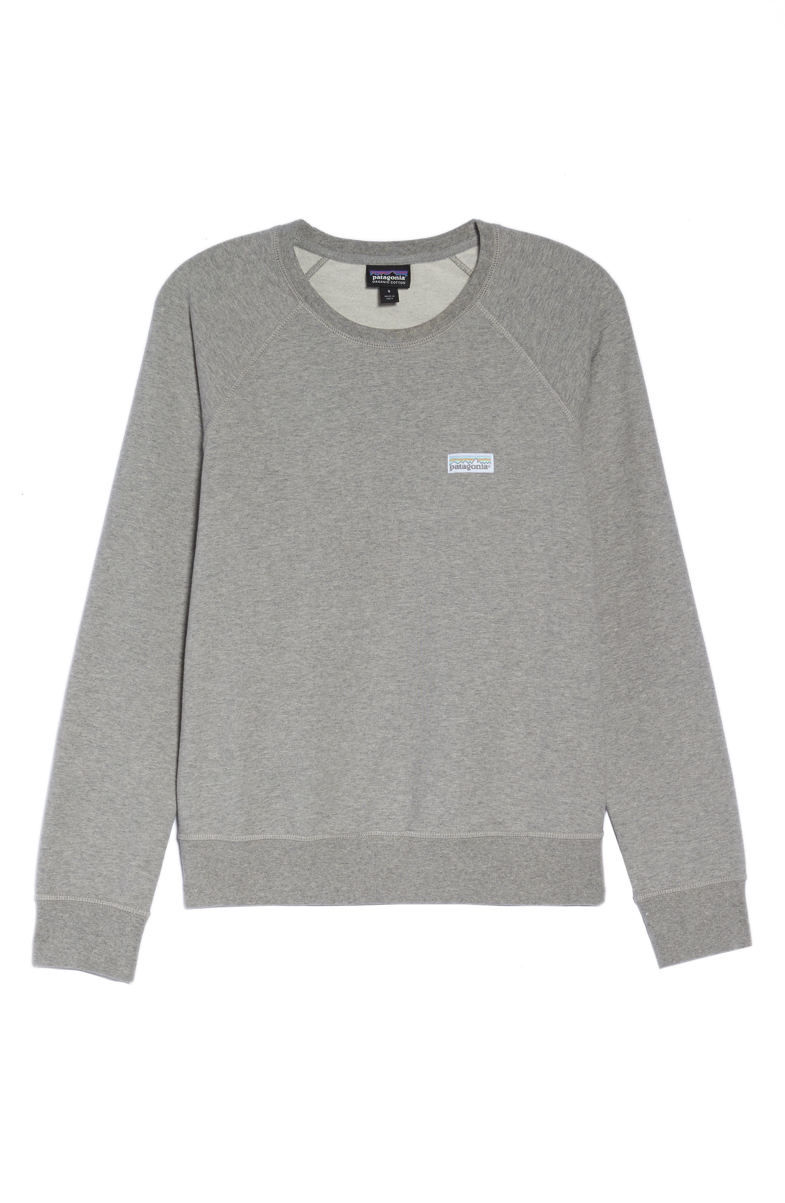 Pastel P-6 Label Midweight Sweatshirt,                             Alternate thumbnail 7, color,                             020
