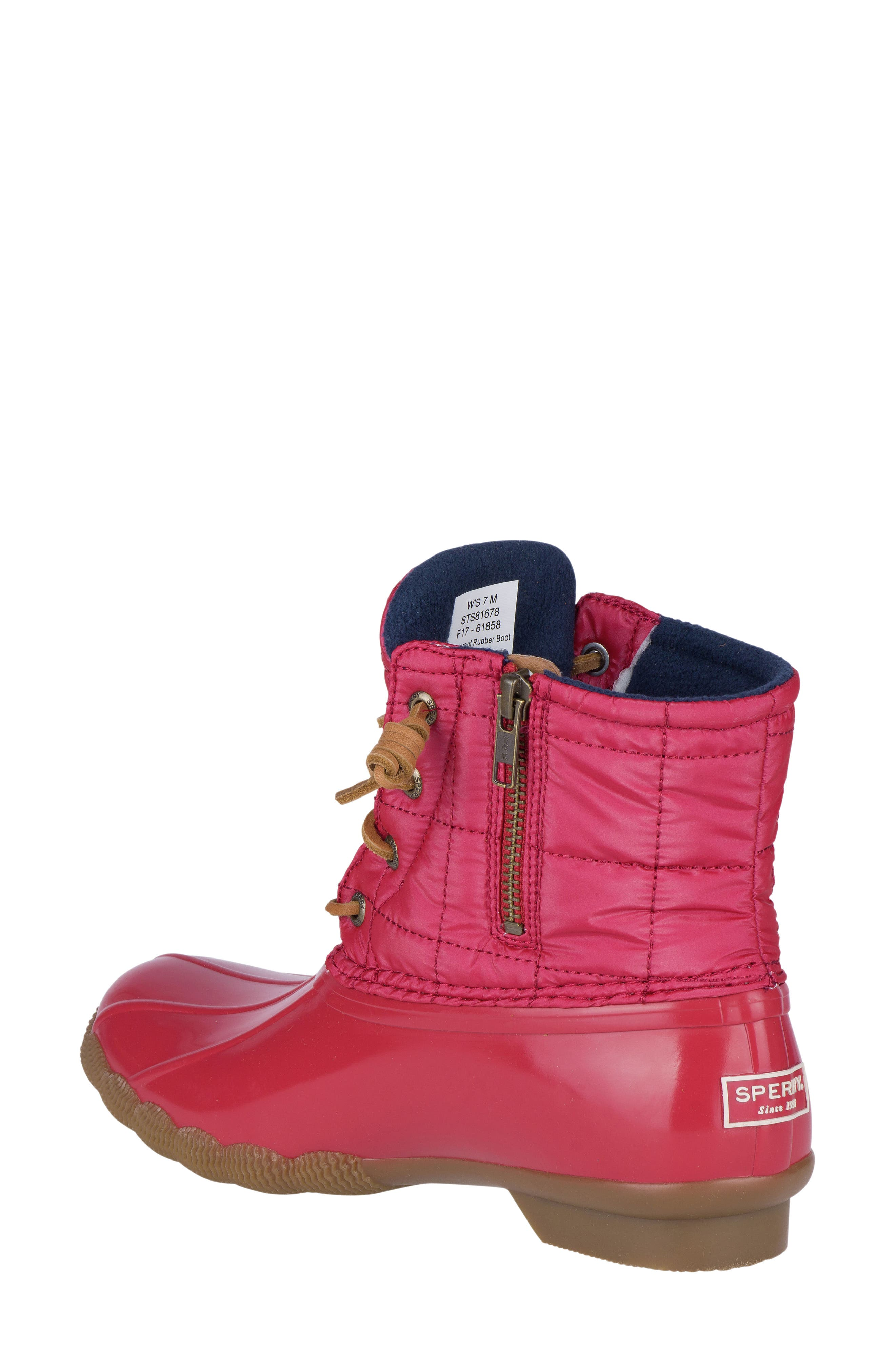 'Saltwater' Waterproof Rain Boot,                             Alternate thumbnail 47, color,