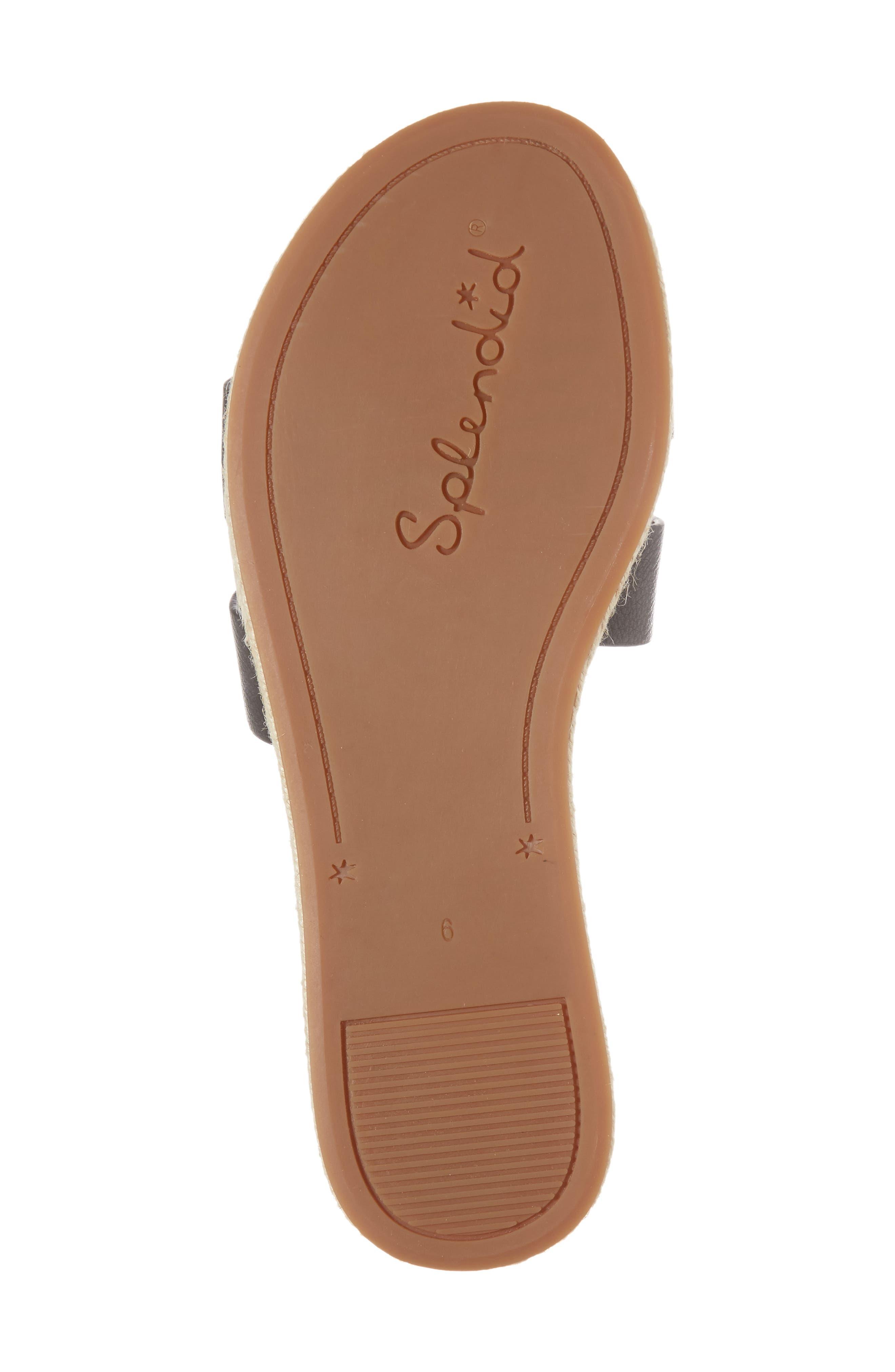 Brittani Slide Sandal,                             Alternate thumbnail 6, color,                             002