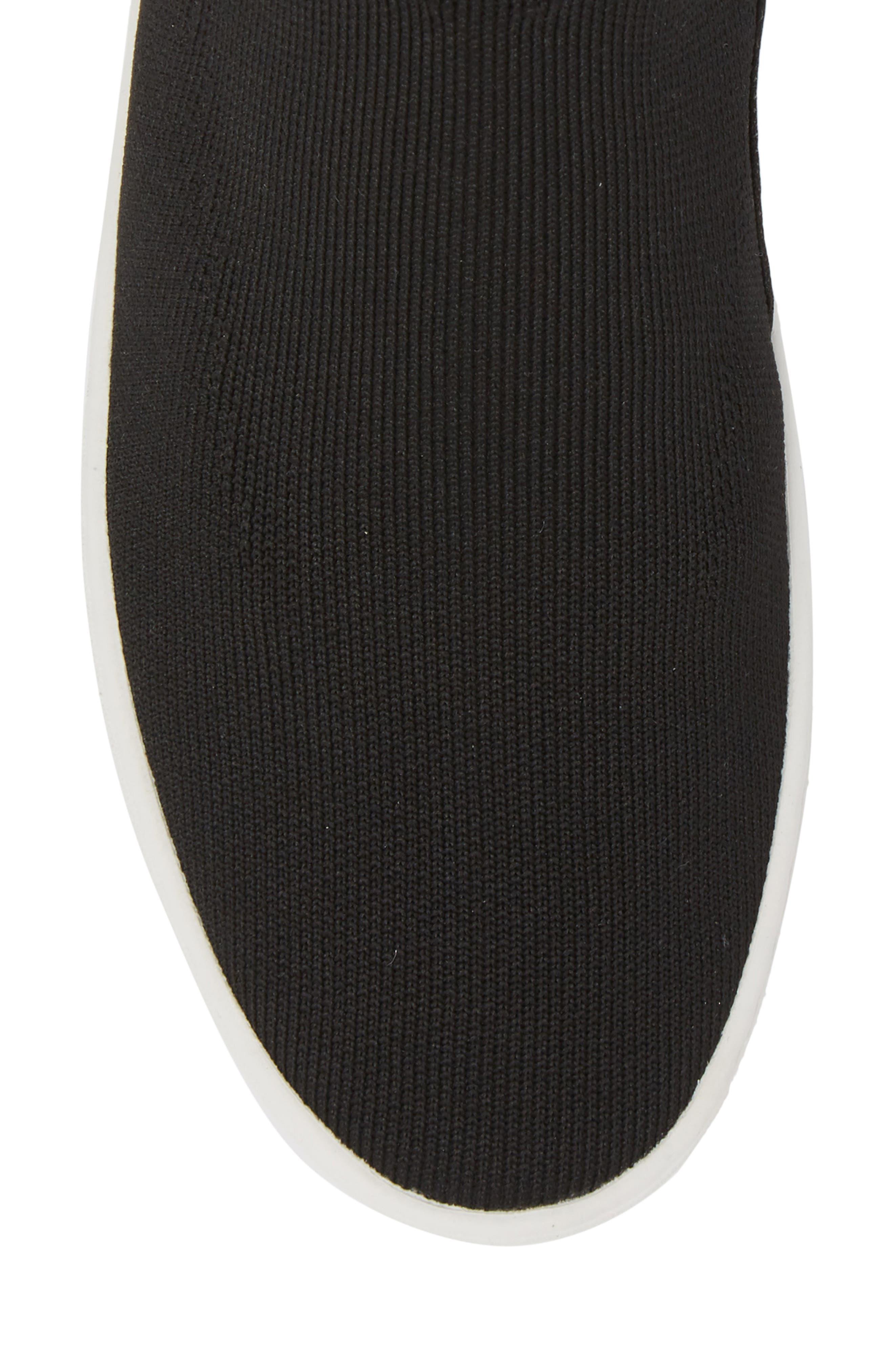 Hilda High Top Sock Sneaker,                             Alternate thumbnail 5, color,