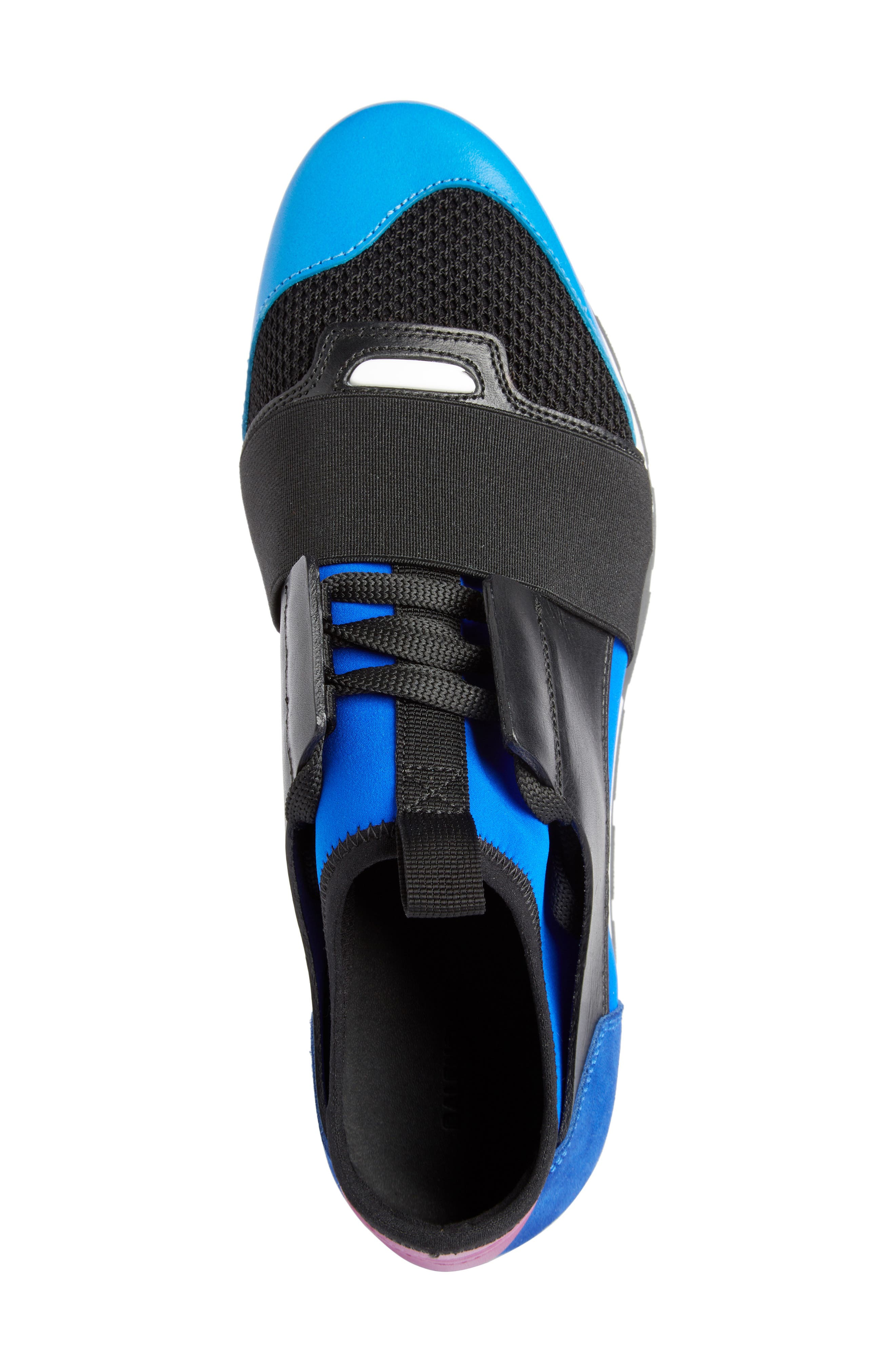 Mixed Media Sneaker,                             Alternate thumbnail 4, color,                             003