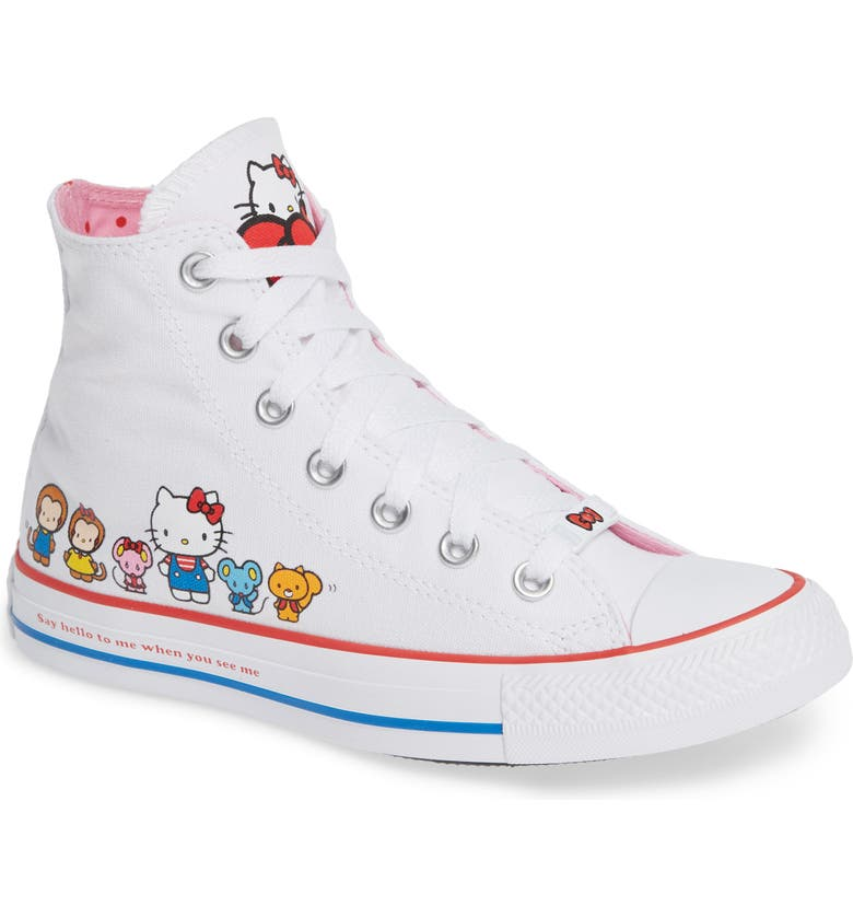 b12162699027f2 Converse Chuck Taylor® All Star® Hello Kitty High Top Sneaker (Women ...