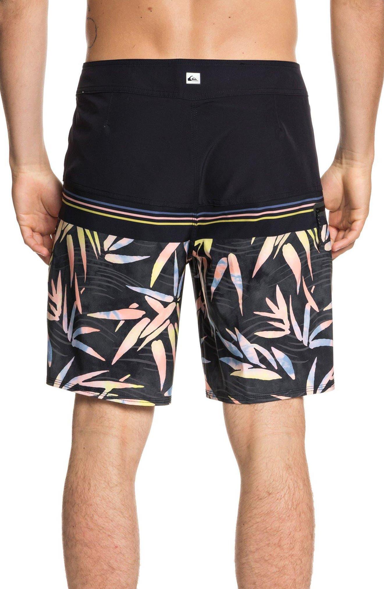 Quilsilver Highline Zen Division Board Shorts,                             Alternate thumbnail 2, color,                             BLACK
