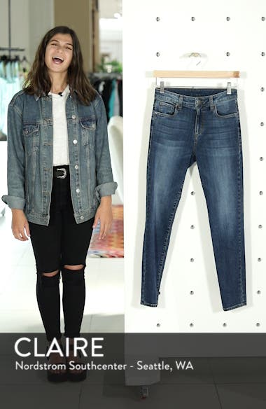Emma High Waist Ankle Skinny Jeans, sales video thumbnail