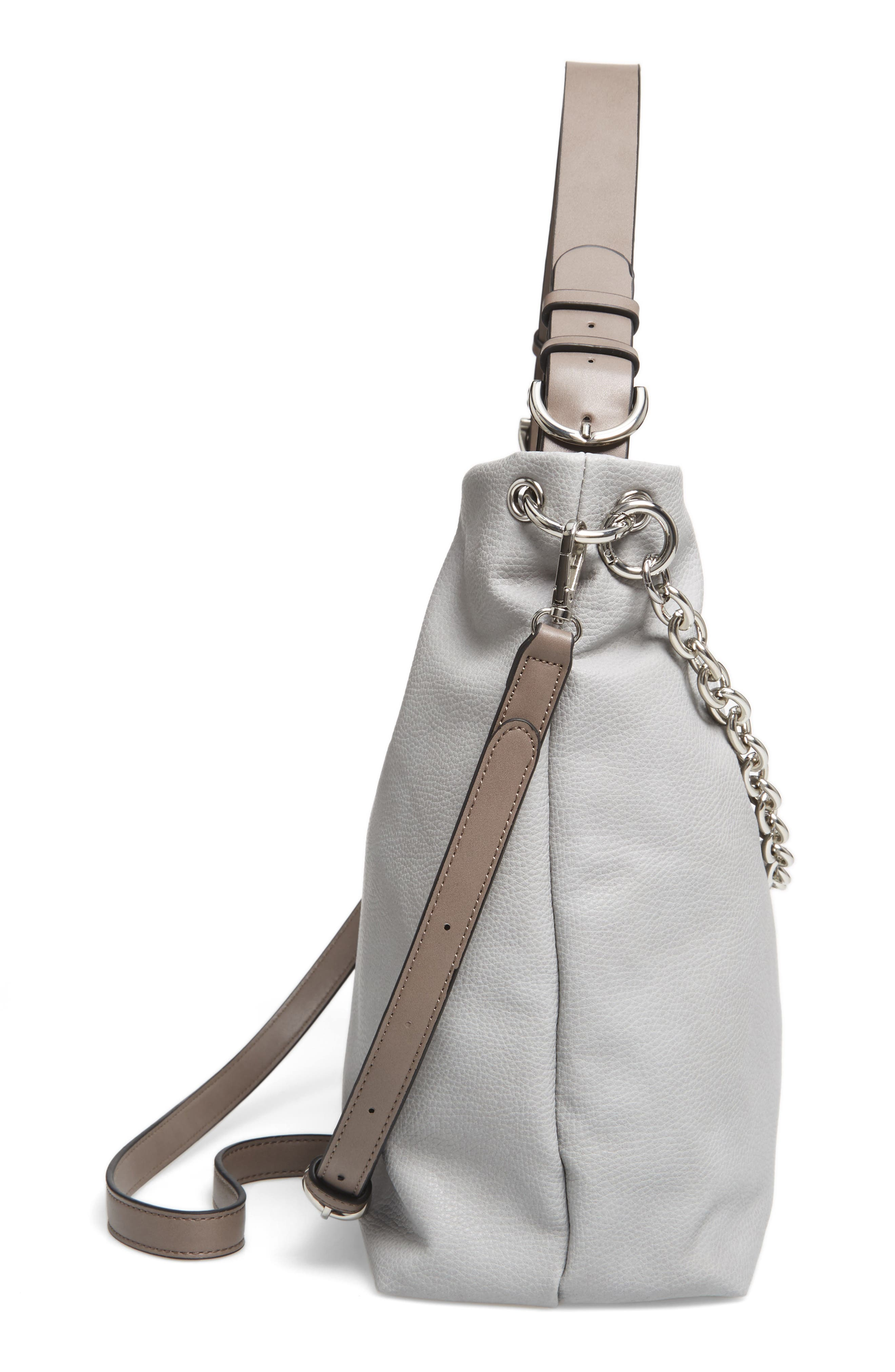 Taylor Faux Leather Shoulder Bag,                             Alternate thumbnail 14, color,