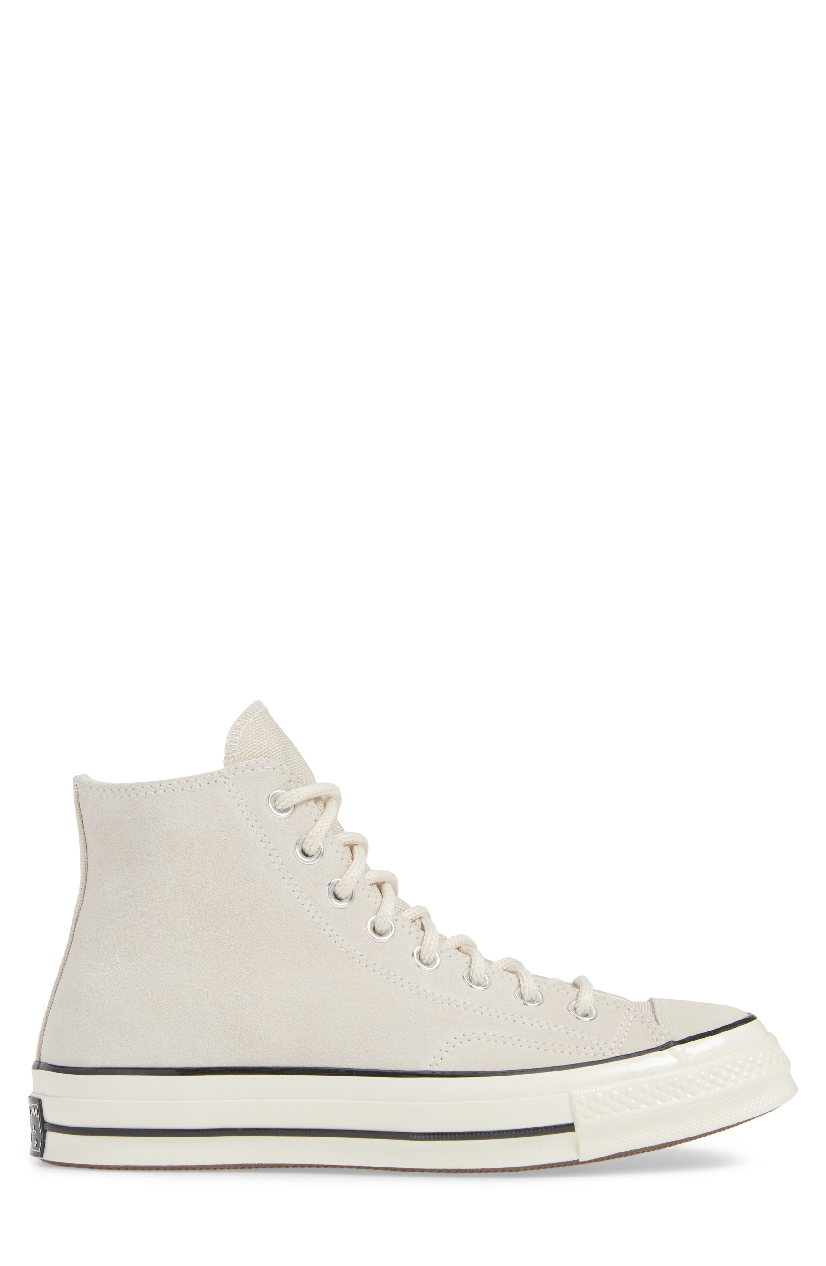 Chuck Taylor<sup>®</sup> All Star<sup>®</sup> 70 Base Camp High Top Sneaker,                             Alternate thumbnail 3, color,                             NATURAL IVORY/BLACK