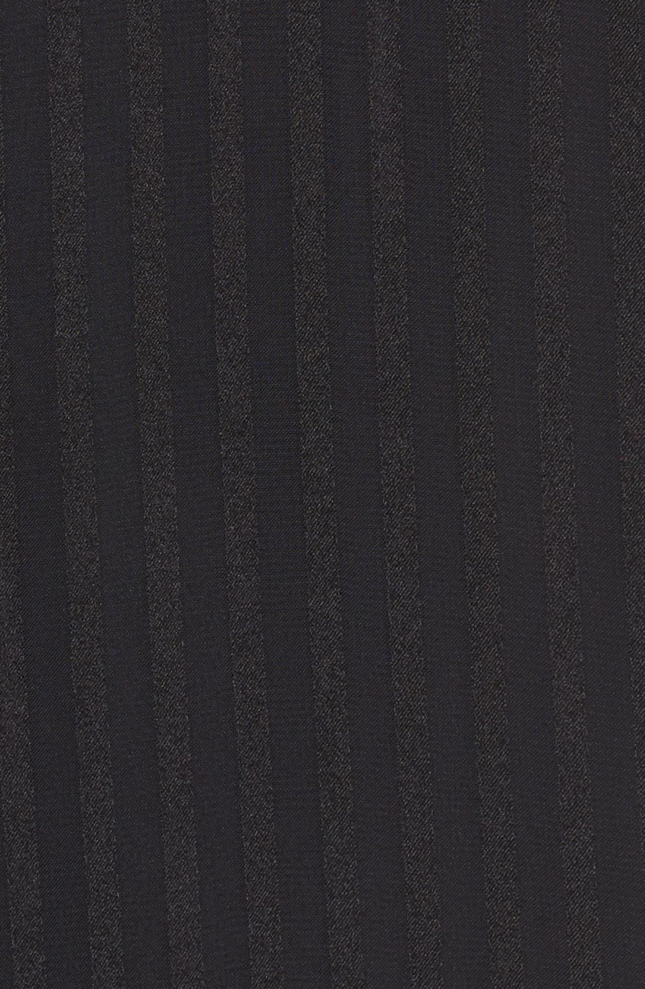 Midnight Sheer Blouse,                             Alternate thumbnail 5, color,                             001