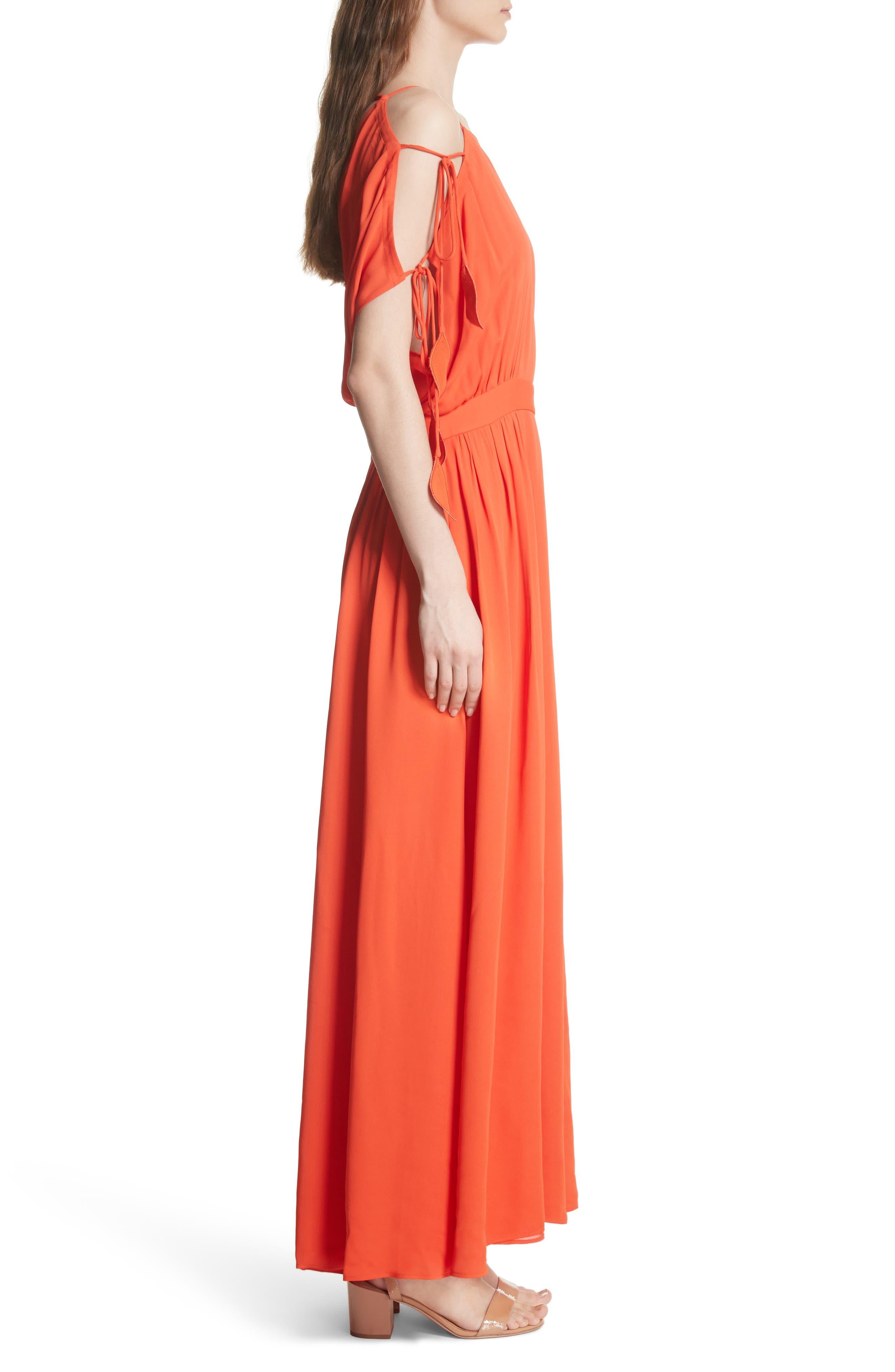 Evalene Maxi Dress,                             Alternate thumbnail 3, color,                             614