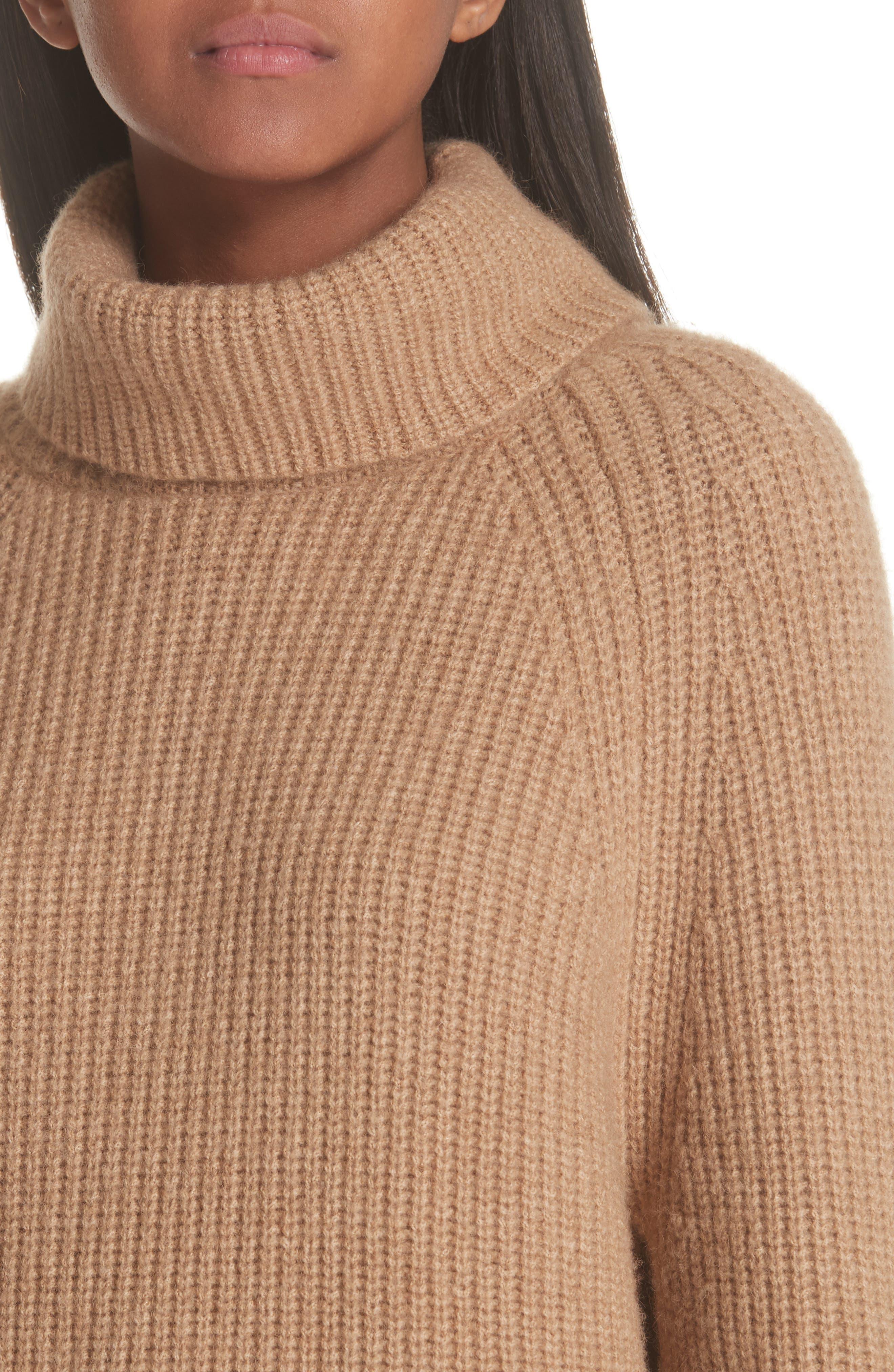 NILI LOTAN,                             Anitra Rib Knit Turtleneck Sweater,                             Alternate thumbnail 4, color,                             261