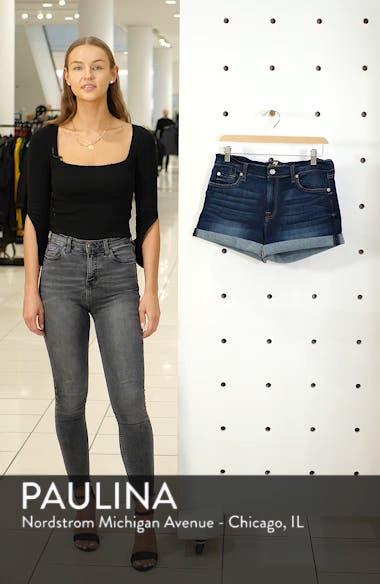 b(air) Cuffed Denim Shorts, sales video thumbnail