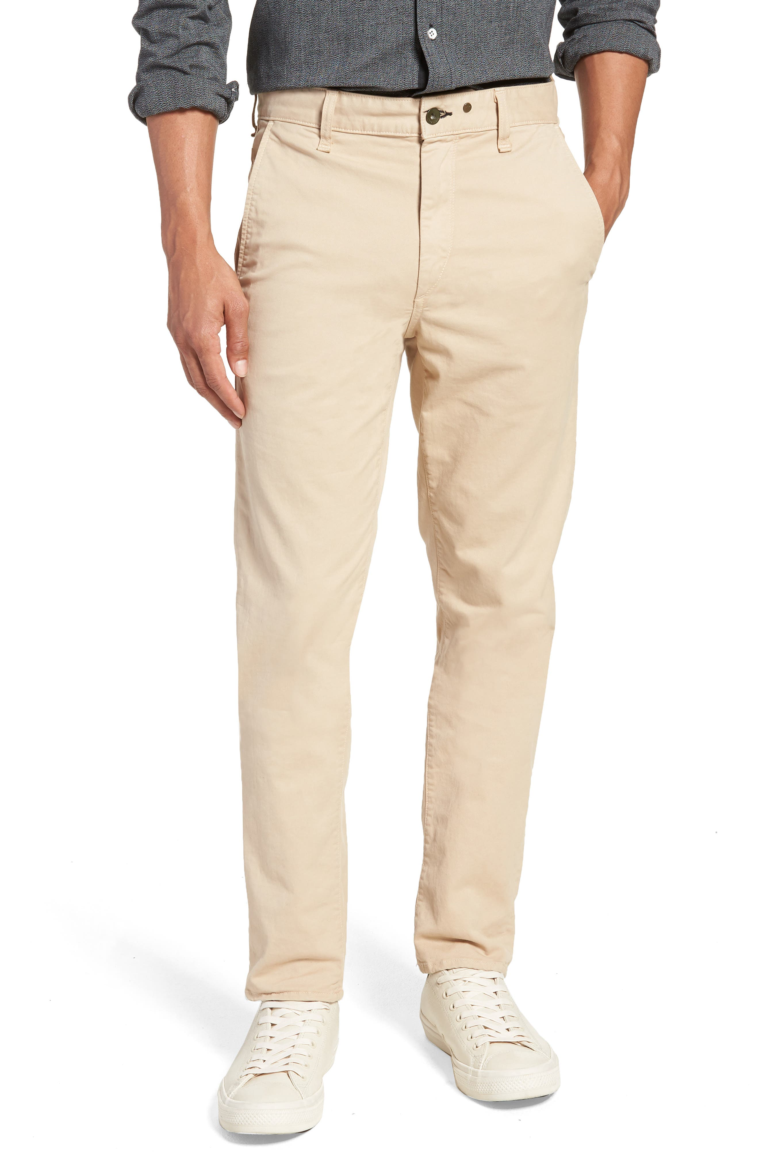 Fit 2 Chinos,                         Main,                         color, BEIGE