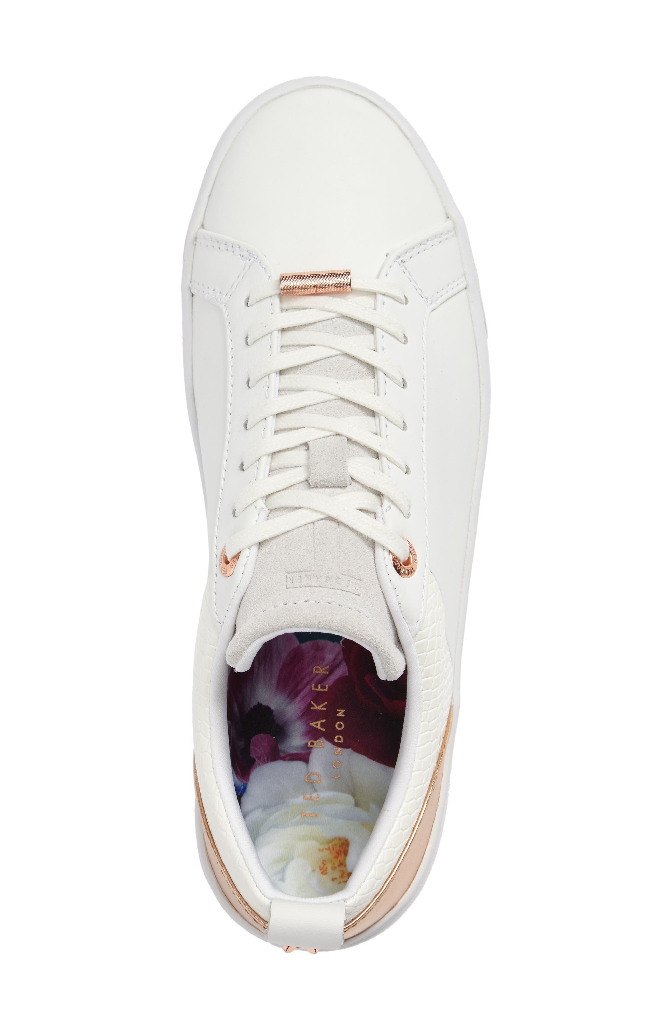 Kulei Lace-Up Sneaker,                             Alternate thumbnail 5, color,