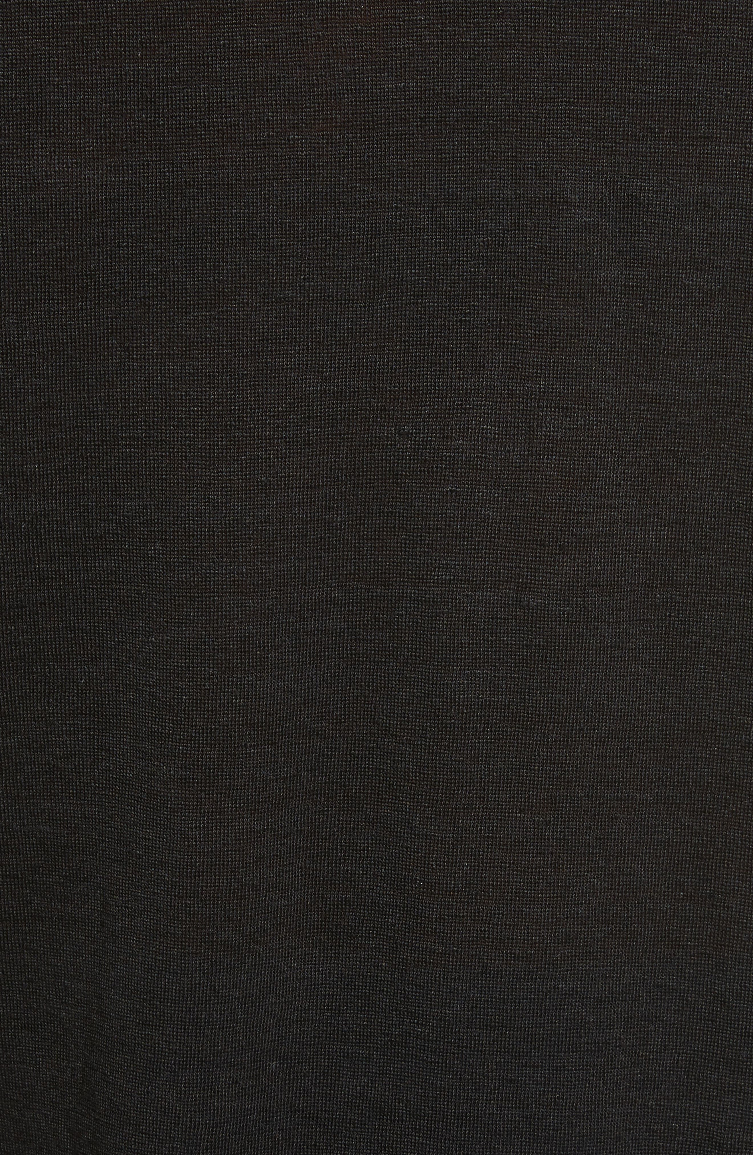Ruffle Cuff Linen Top,                             Alternate thumbnail 9, color,